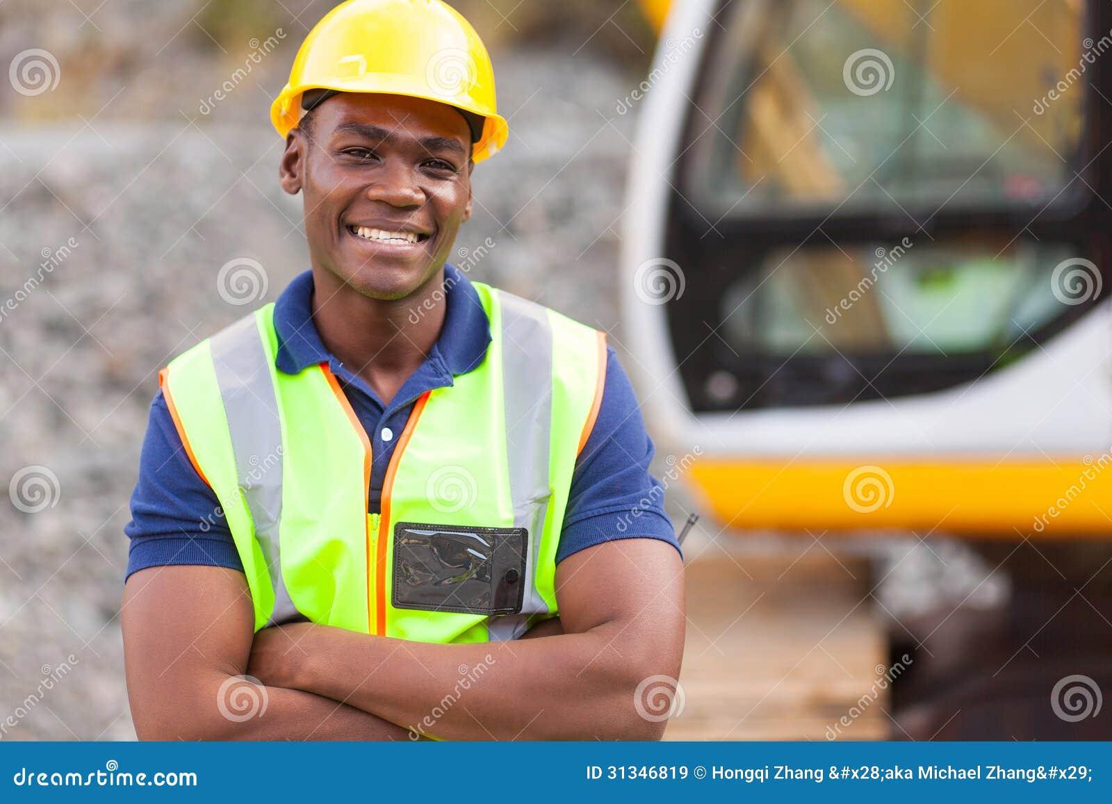 Afrikaanse fabrieksarbeider
