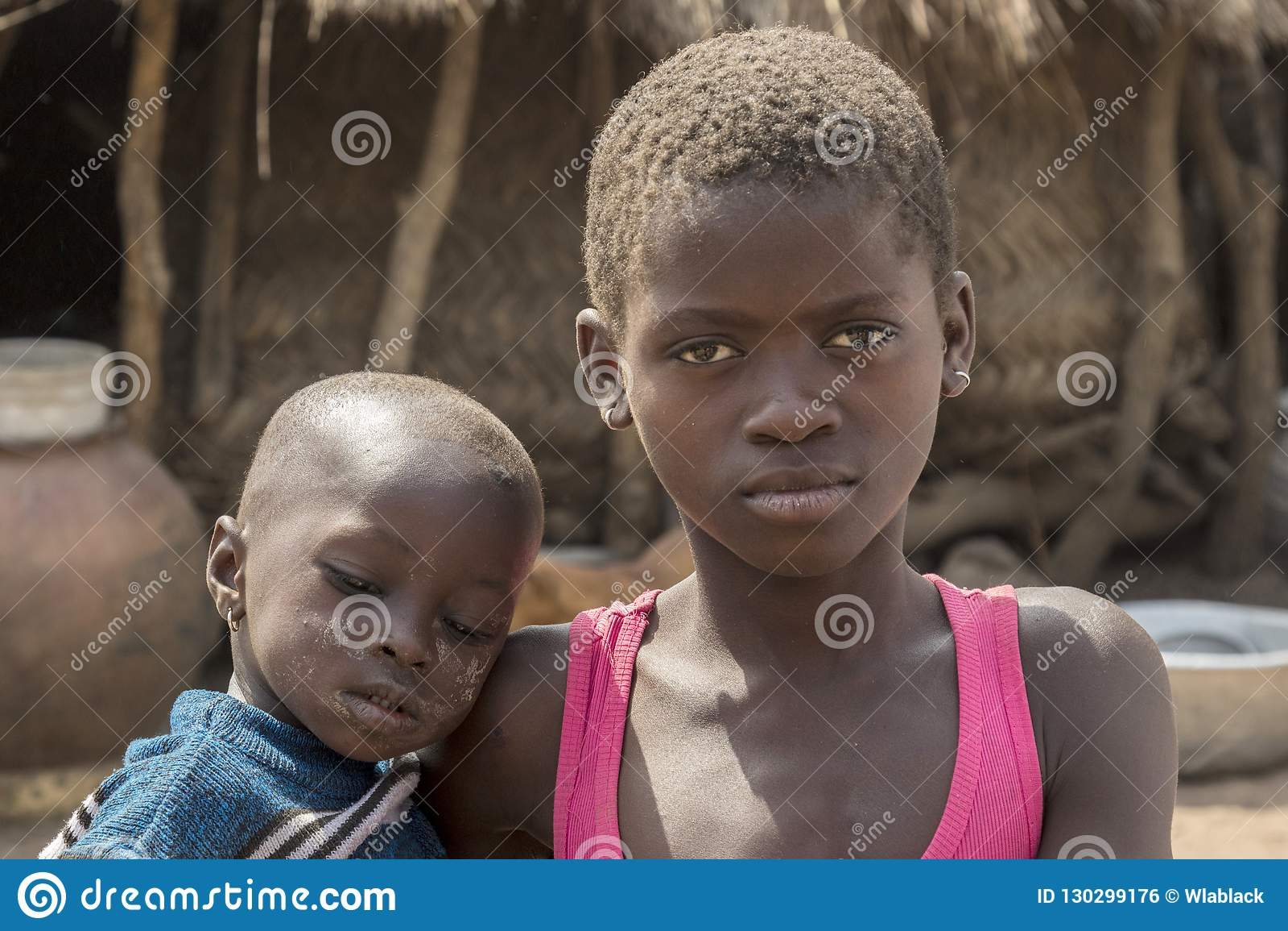 Afrikaanse kinderen in Ghana