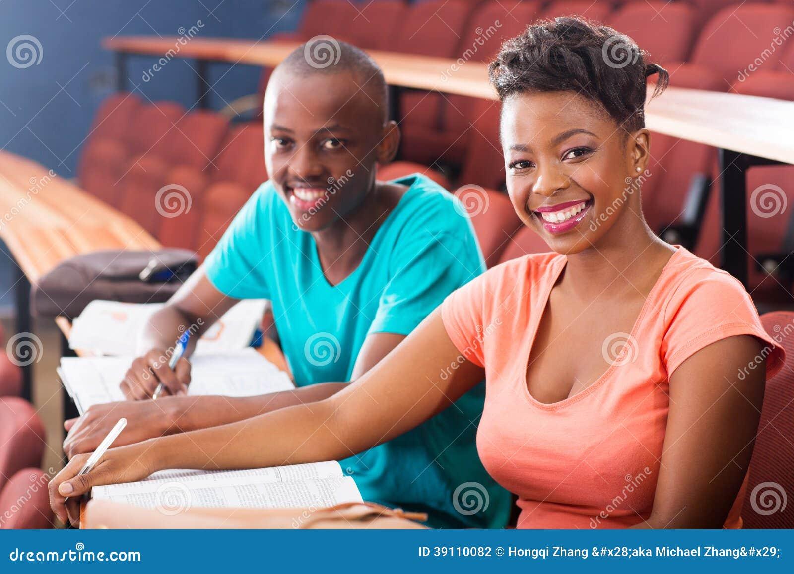 Afrikaanse studenten