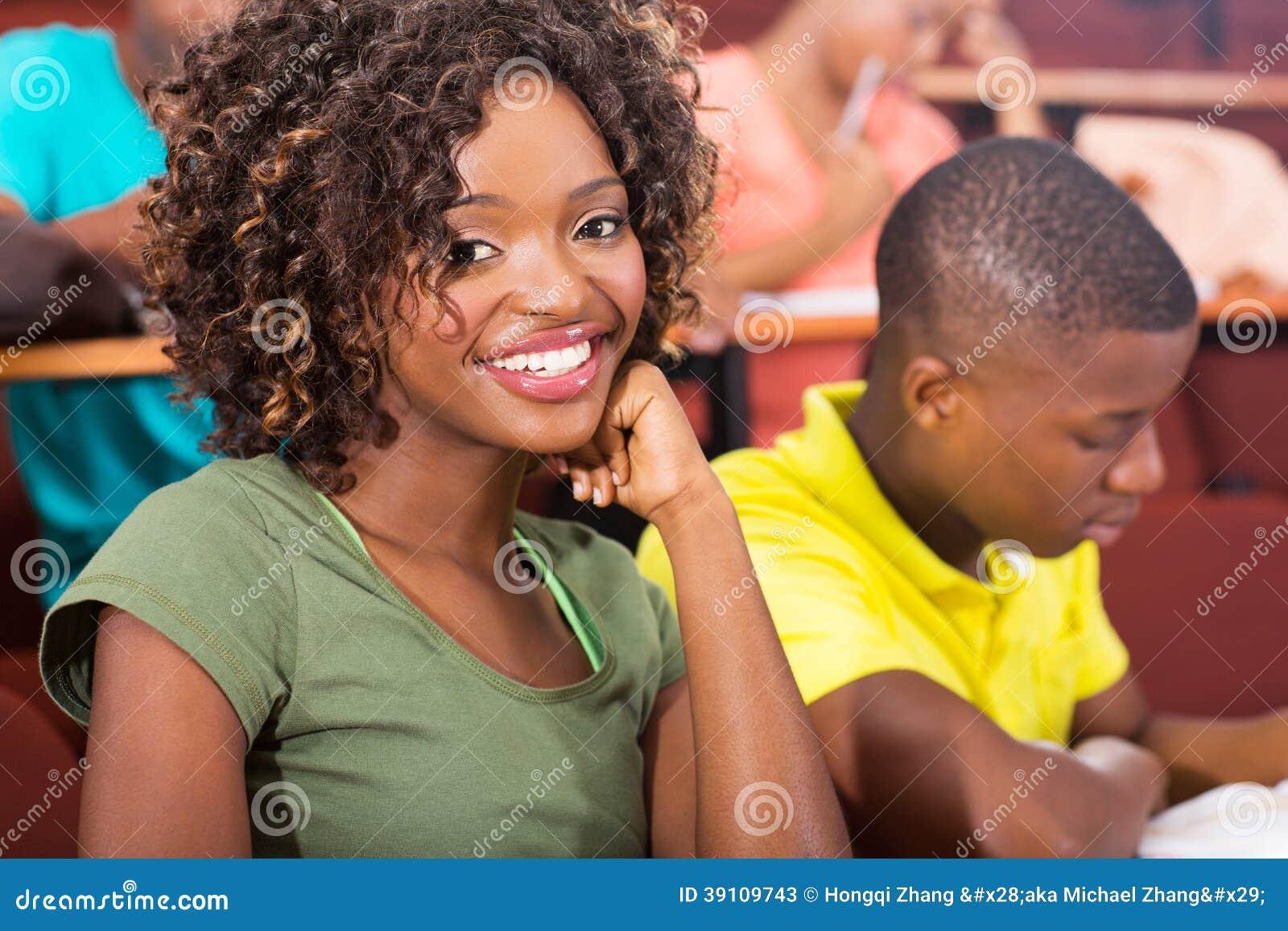 Afrikaanse universitaire studenten