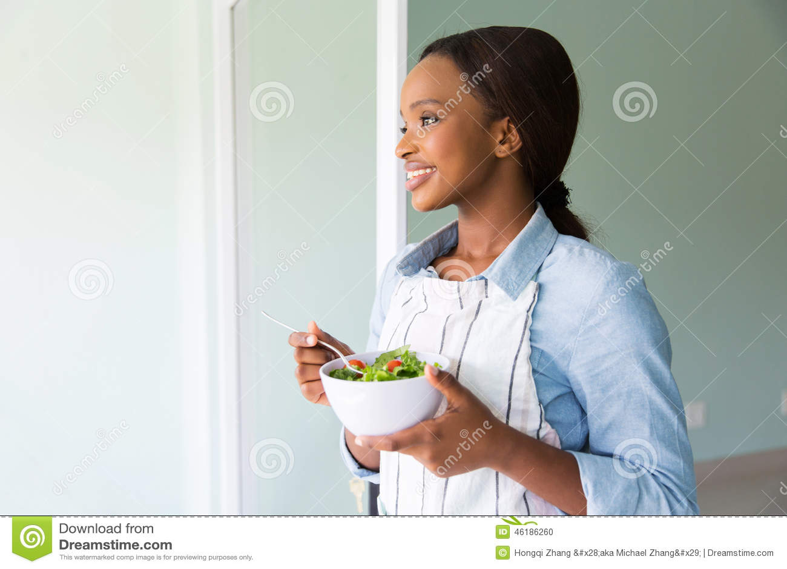 Afrikaanse vrouwensalade