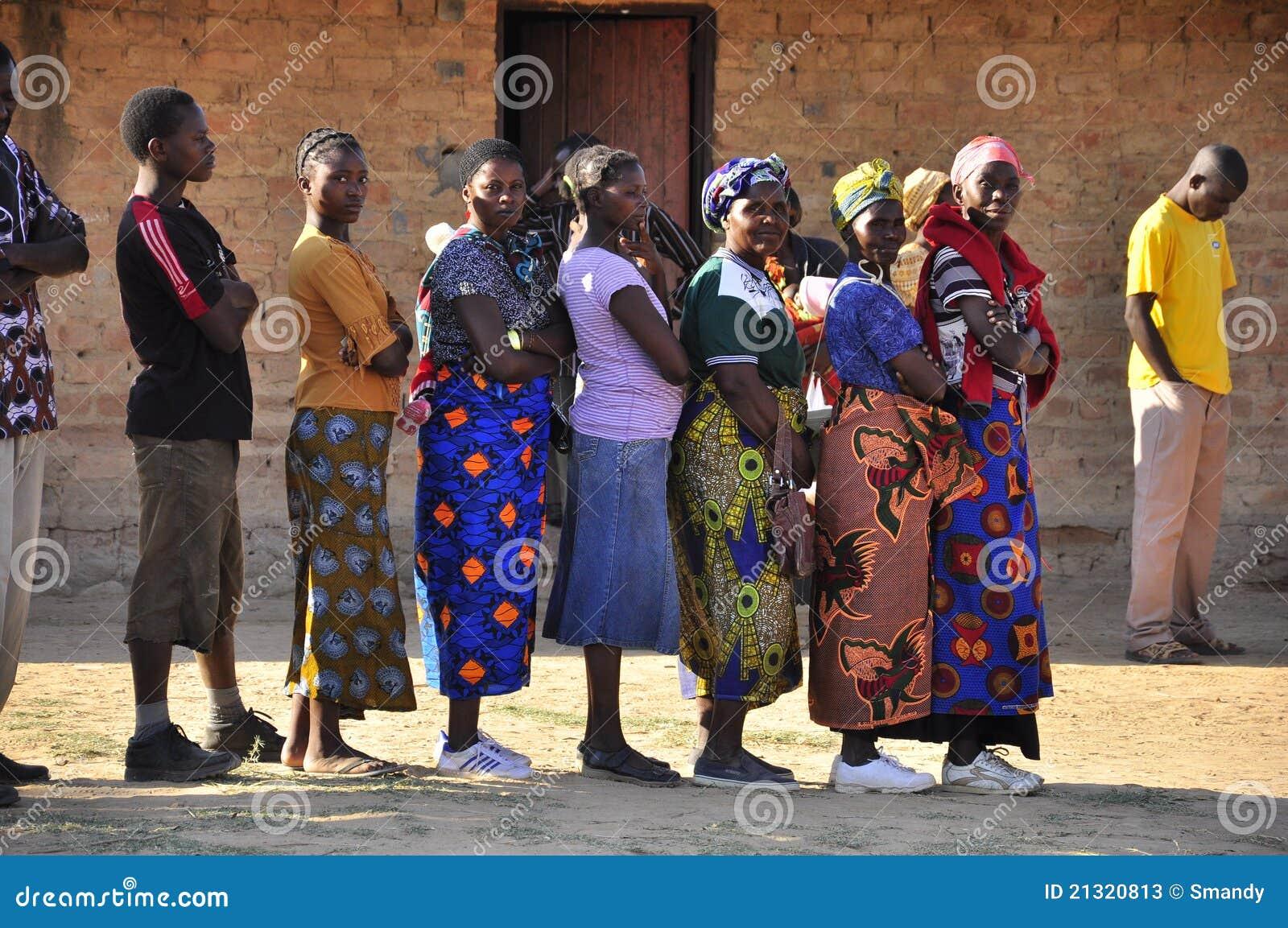 freie afrikanische Frauen