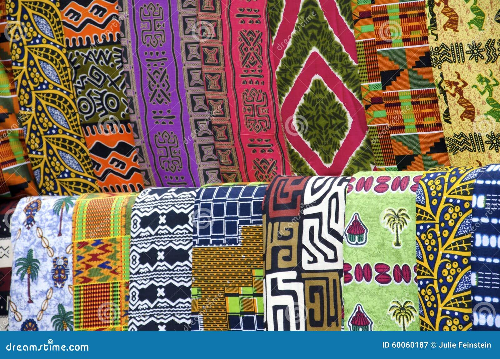 afrikanische stoffmuster stockbild bild von nähen