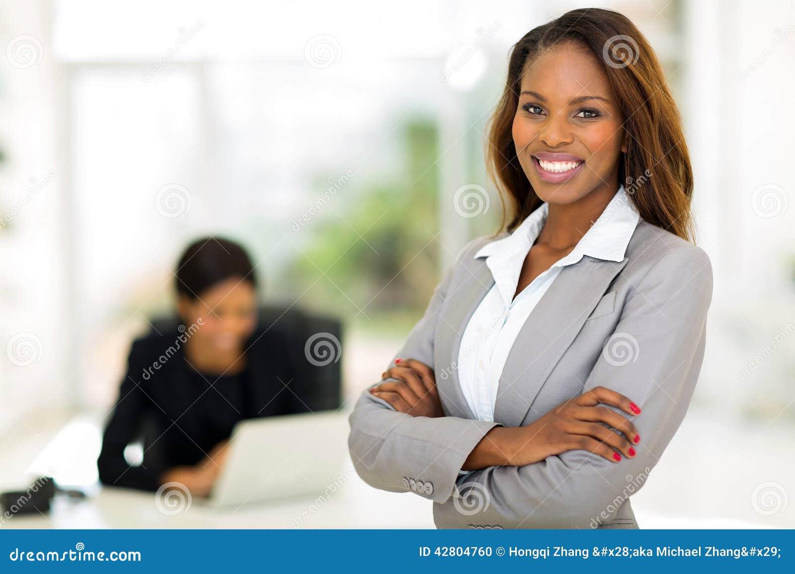 Afrikansk affärskvinna