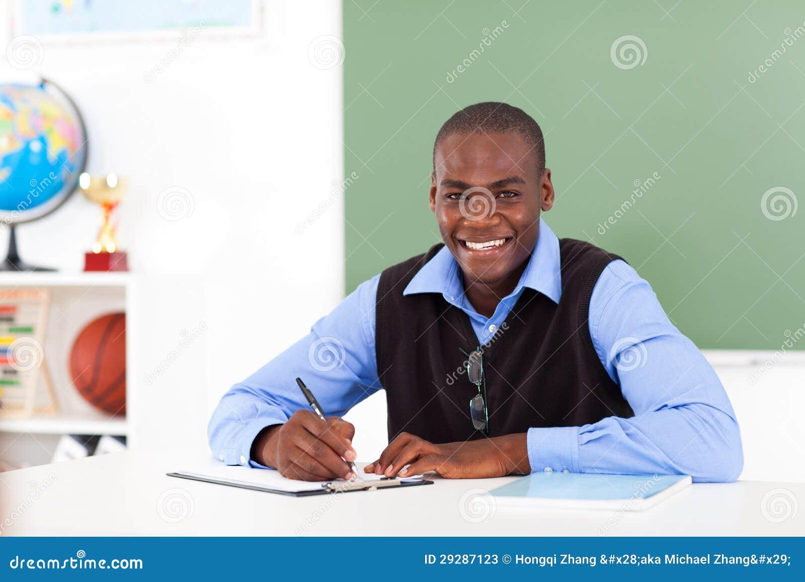 Afrikansk amerikanlärare