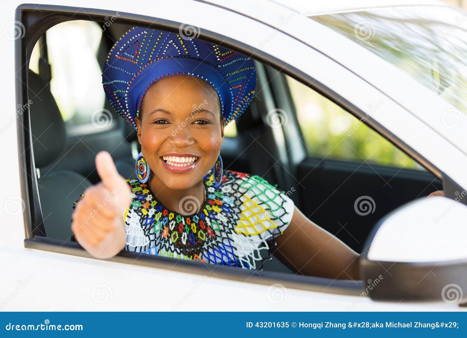 Download Afrikansk Chaufförtumme Upp Fotografering för Bildbyråer - Bild av giving, autonom: 43201635