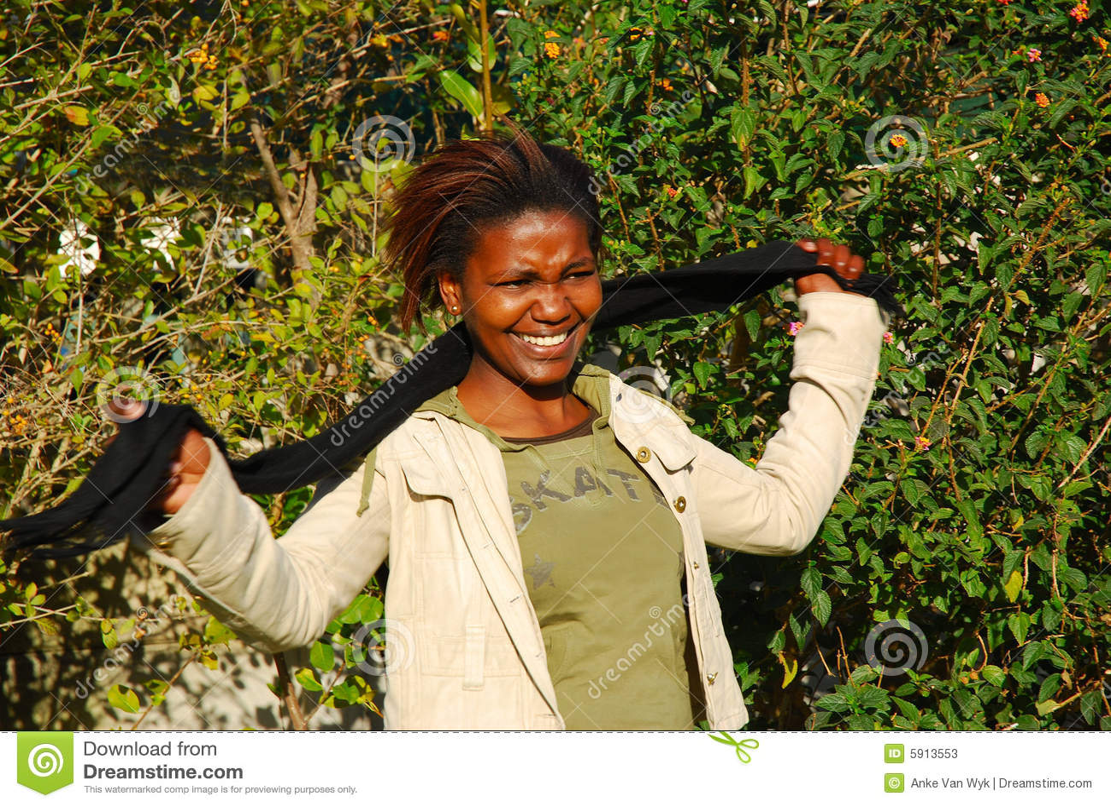 Afrikansk deltagare