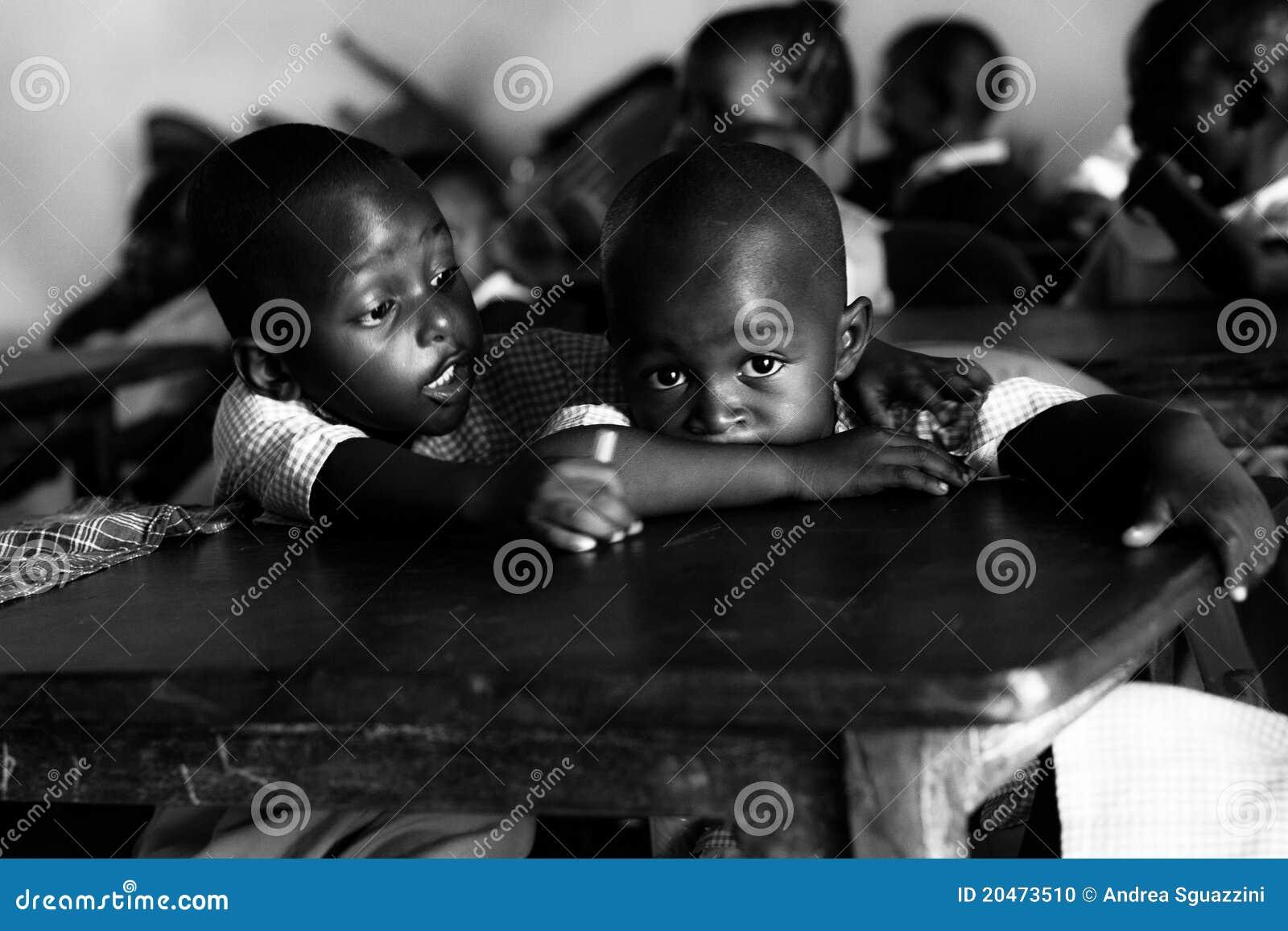 Verklig afrikansk flickor