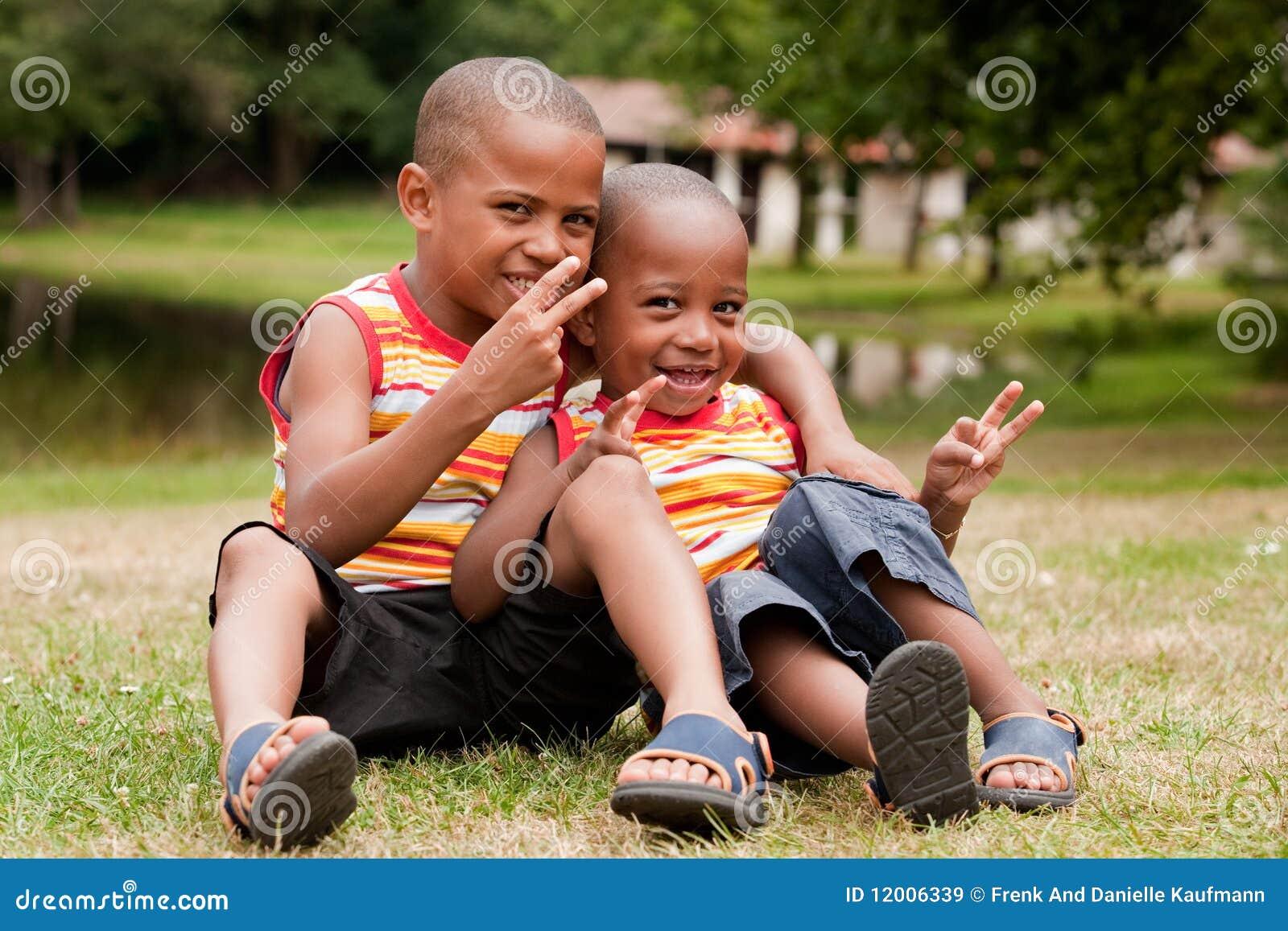 Afrikanskt sitta för barn