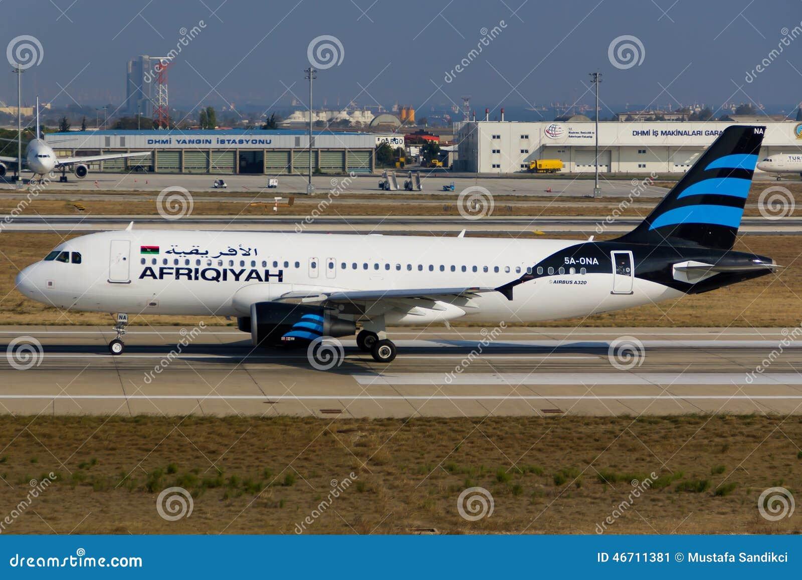Afriqiyah Airways Airbus