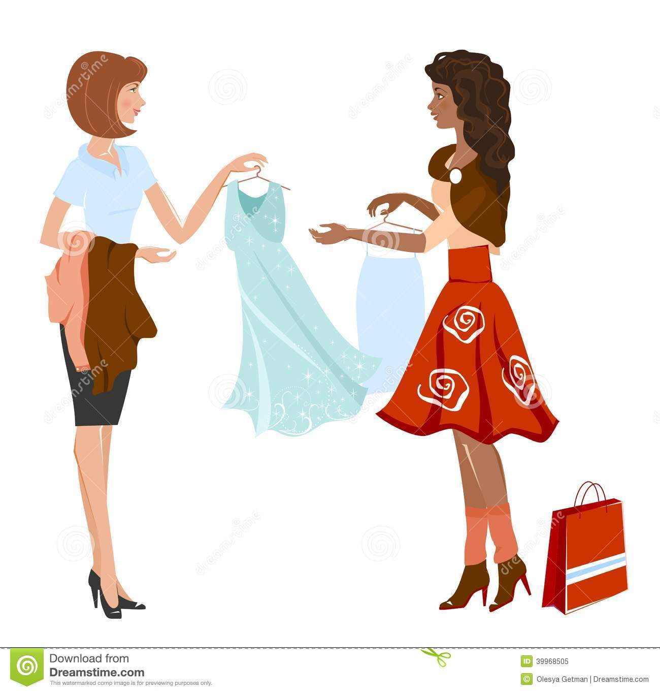 How to buy a dress for a woman