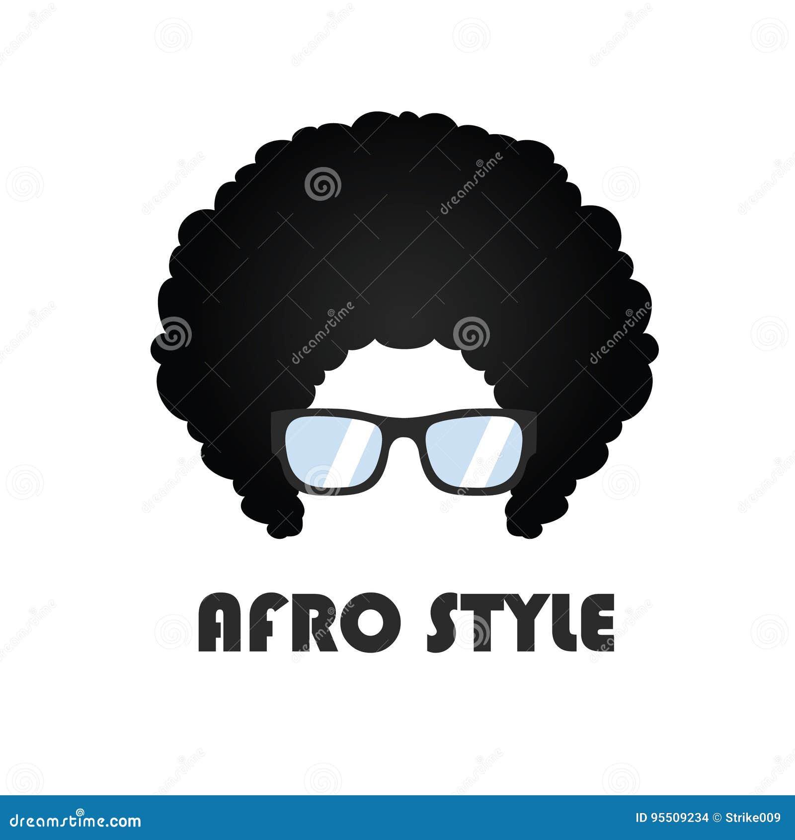 Afro Style Logo Vector Design