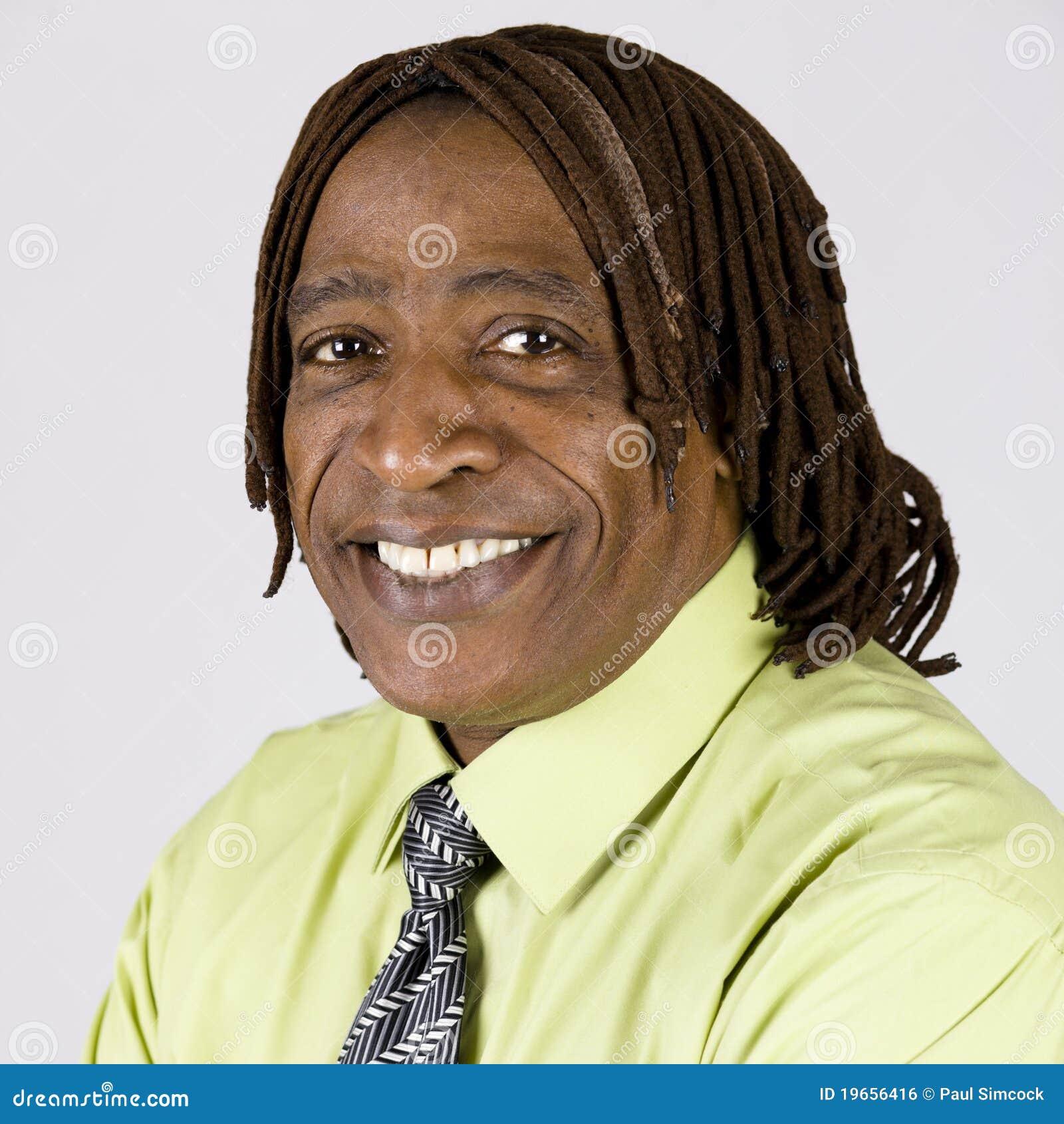 Afroamerikaner-Mann