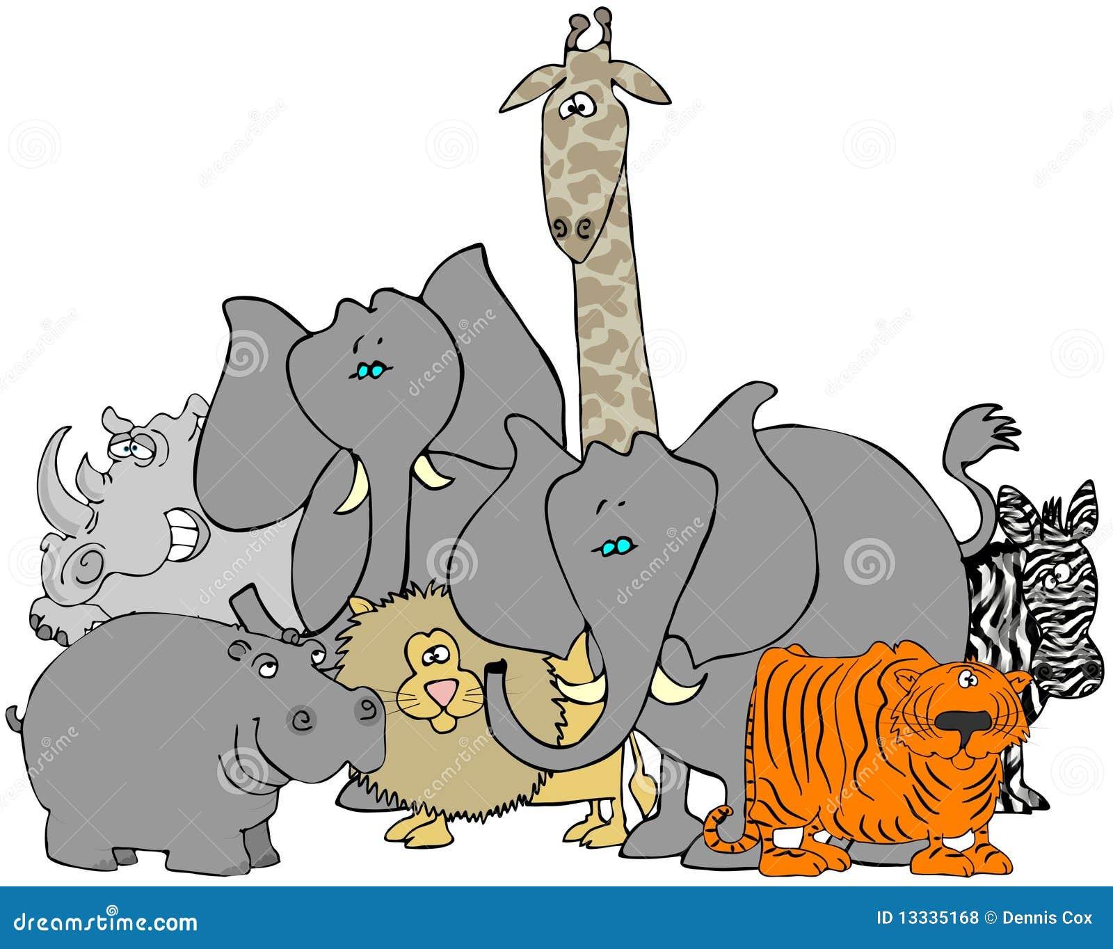 Afrykańscy zwierzęta
