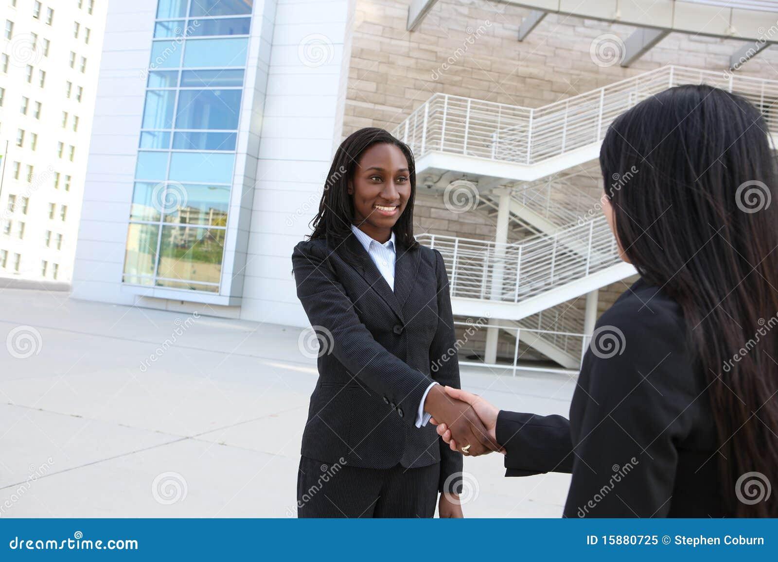 Afrykańska biznesowa kobieta