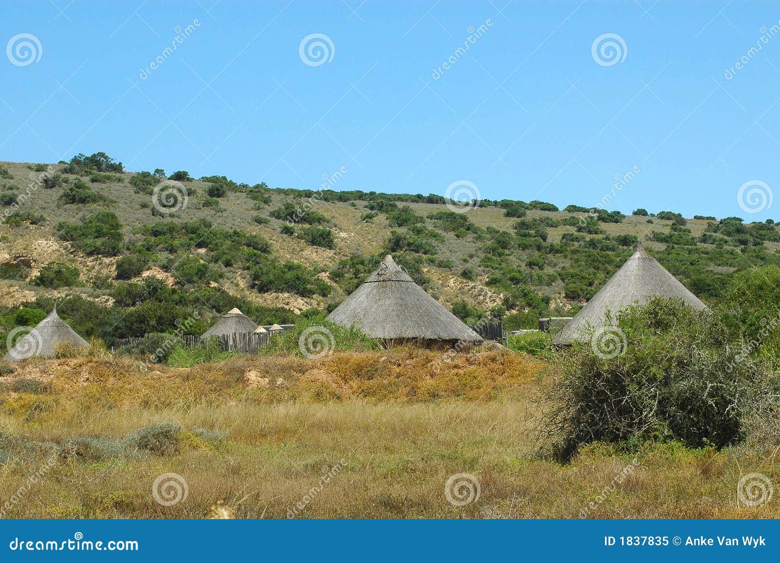 Afrykański wioski