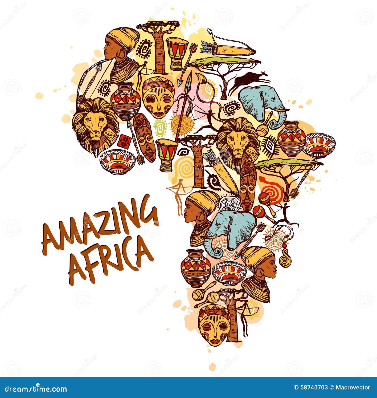 Afryka nakreślenia pojęcie
