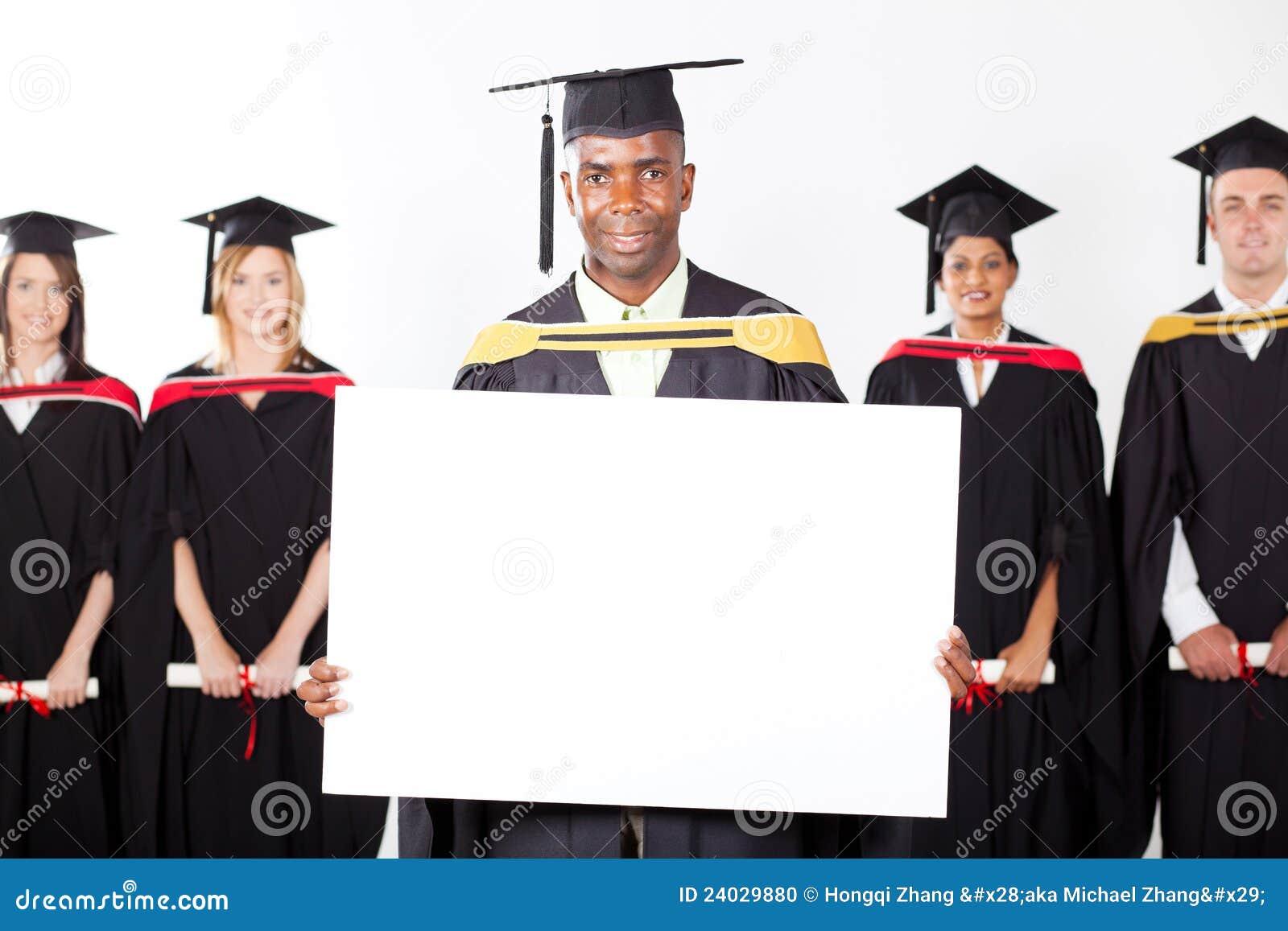 Afrykanina absolwent