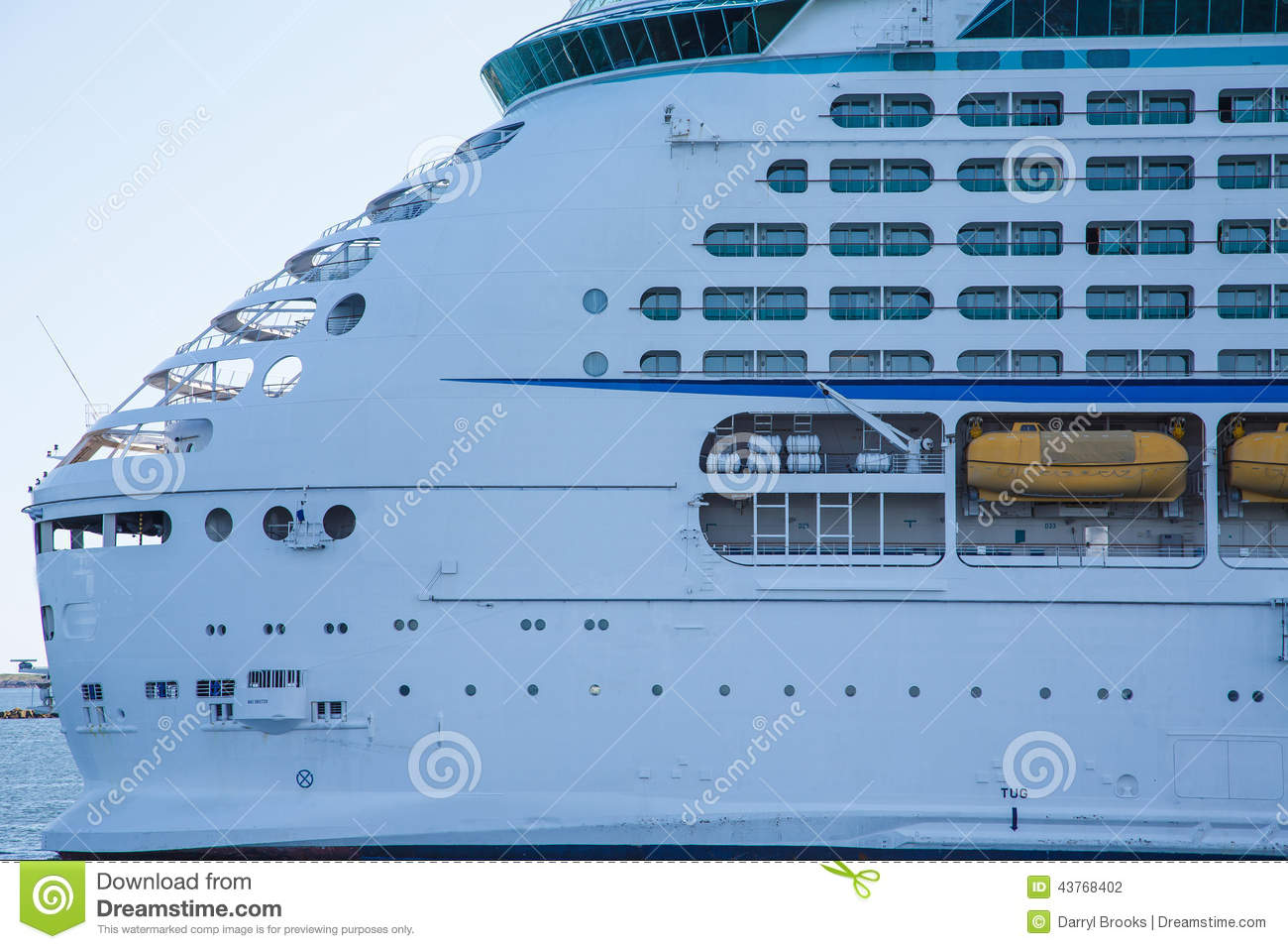 Aft Decks Of Luxury Cruise Ship Stock Photo Image - What is aft on a cruise ship