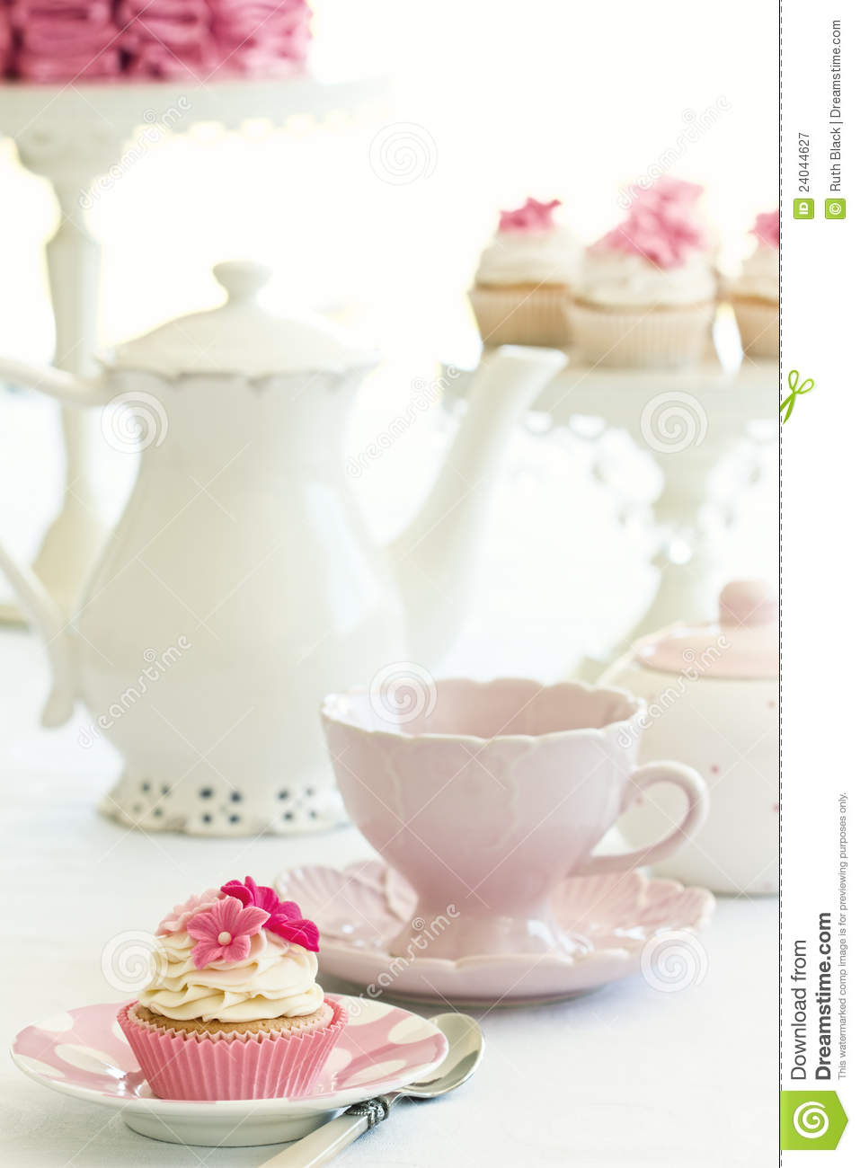 Afternoon Tea Royalty Free Stock Photography Image 24044627