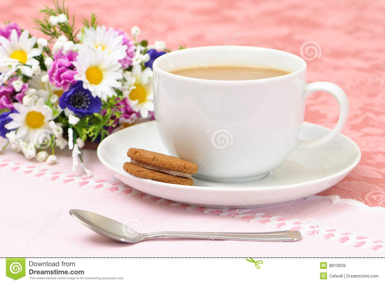 Afternoon Tea Royalty Free Stock Images Image 8810839