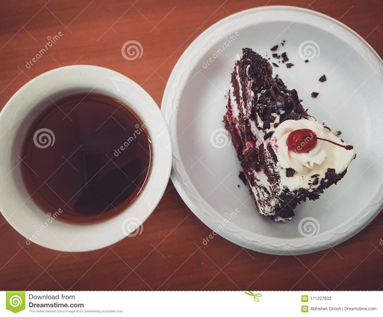 Afternoon Tea March 02 2018 Stock Photo Image Of Meal Plate