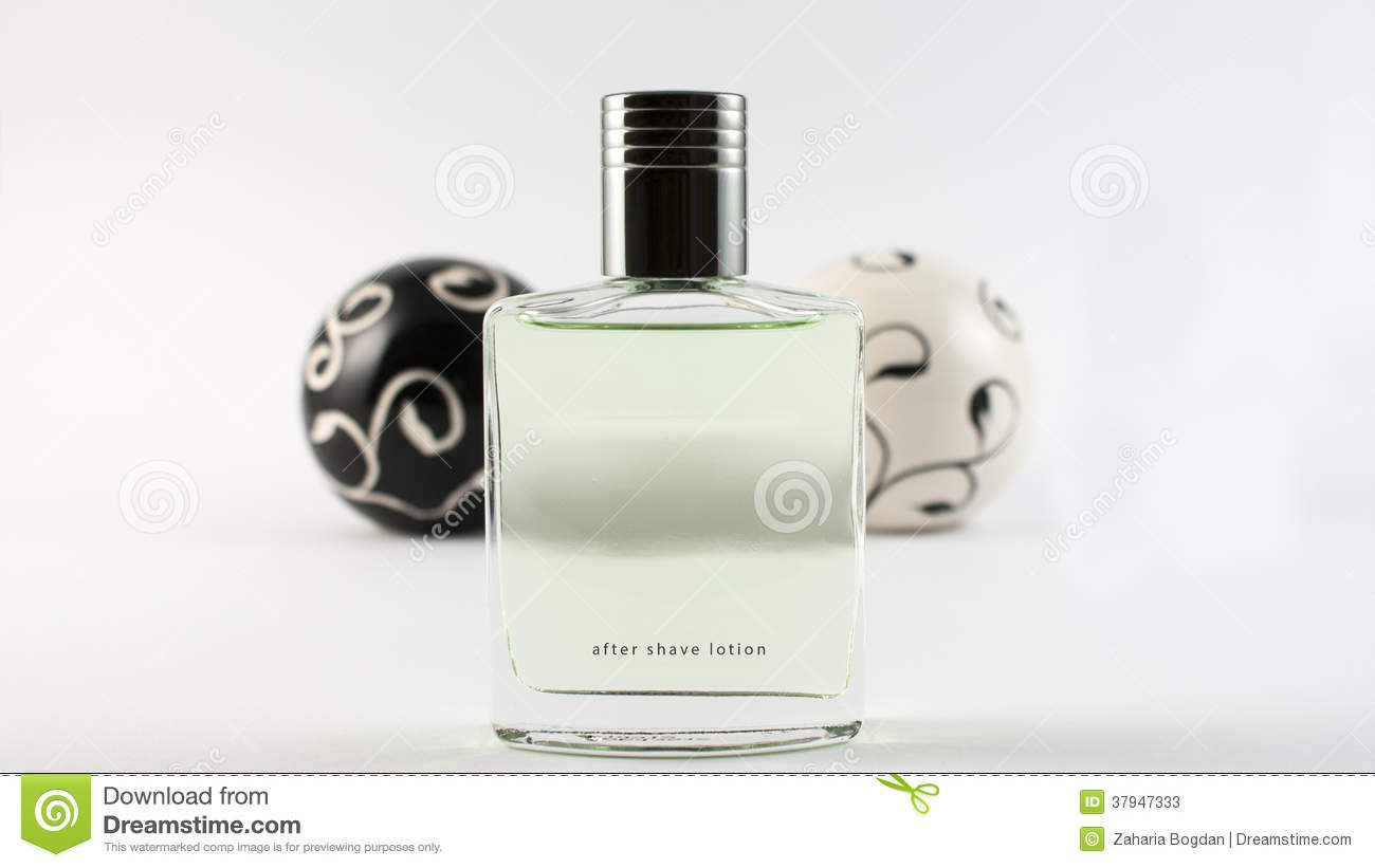 aftershave on balls