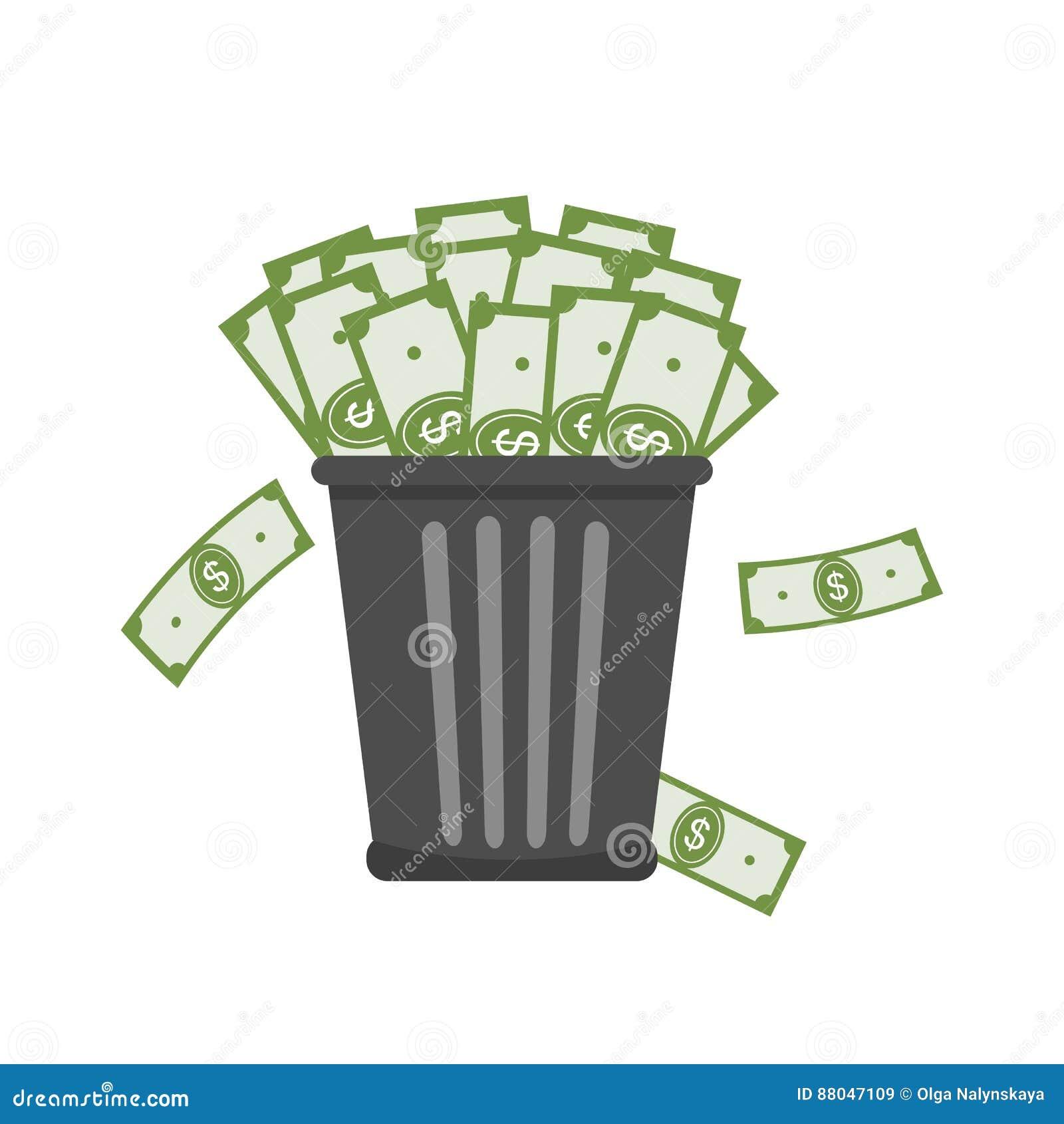 Afvalhoogtepunt van Geld