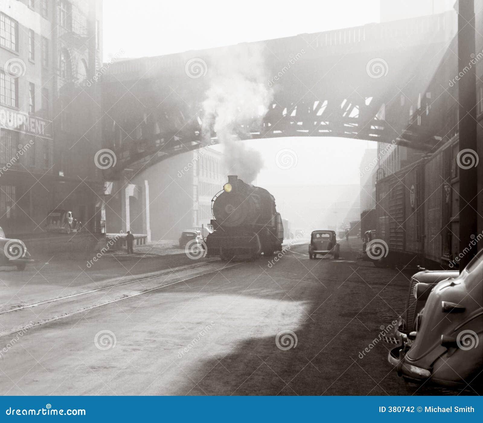 Age industrial scene