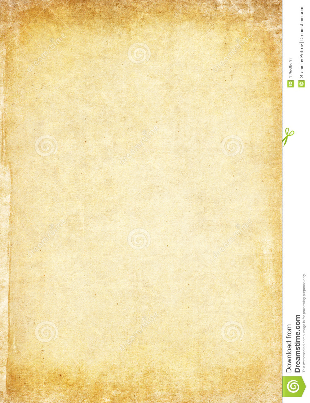 Aged Paper Texture Stock Photo Image 12559570
