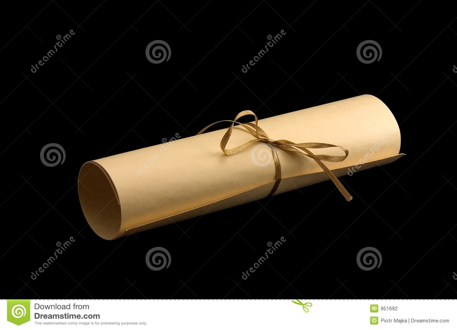 Aged scroll