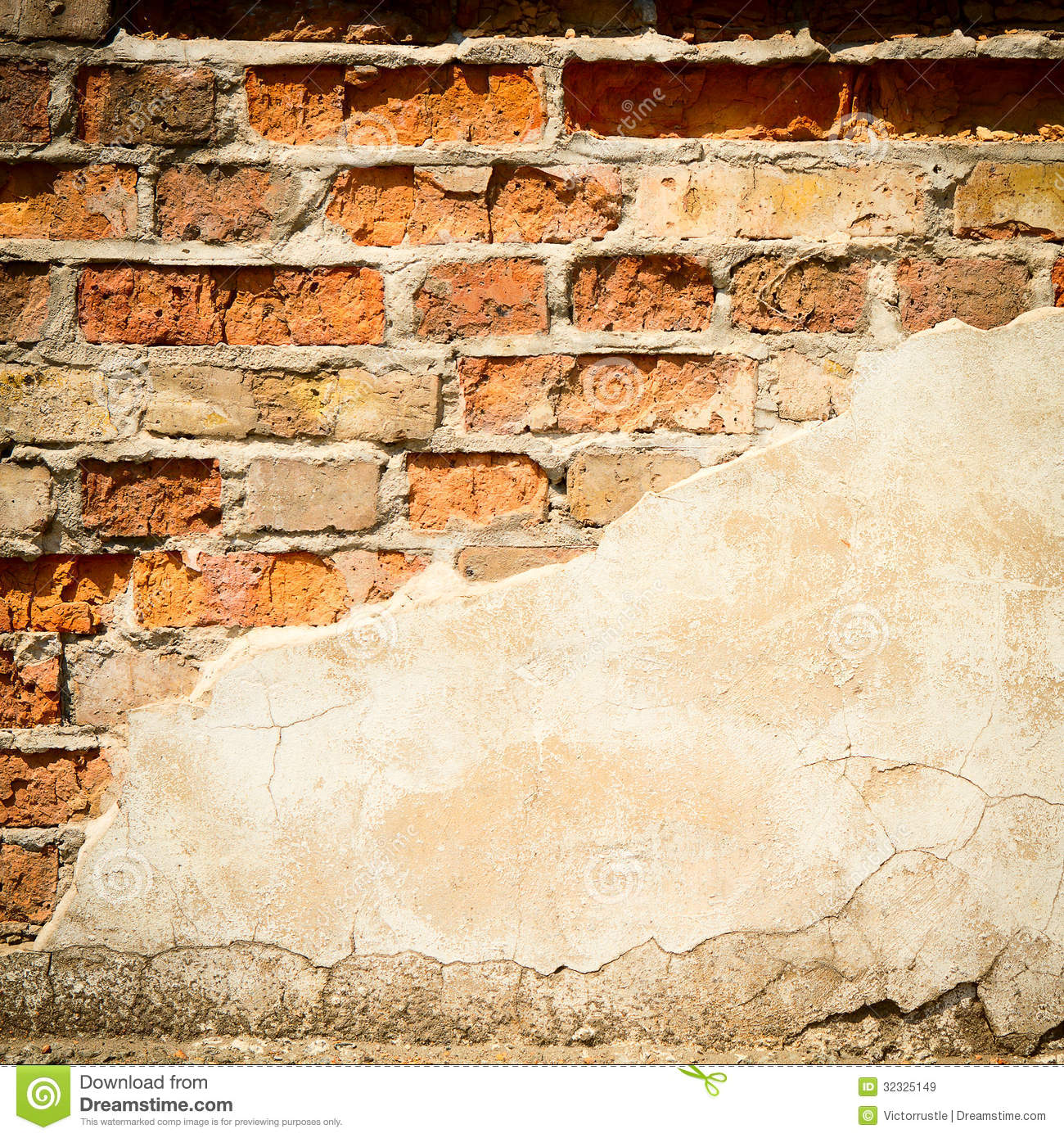 Aged Street Wall Background, Texture Stock Image