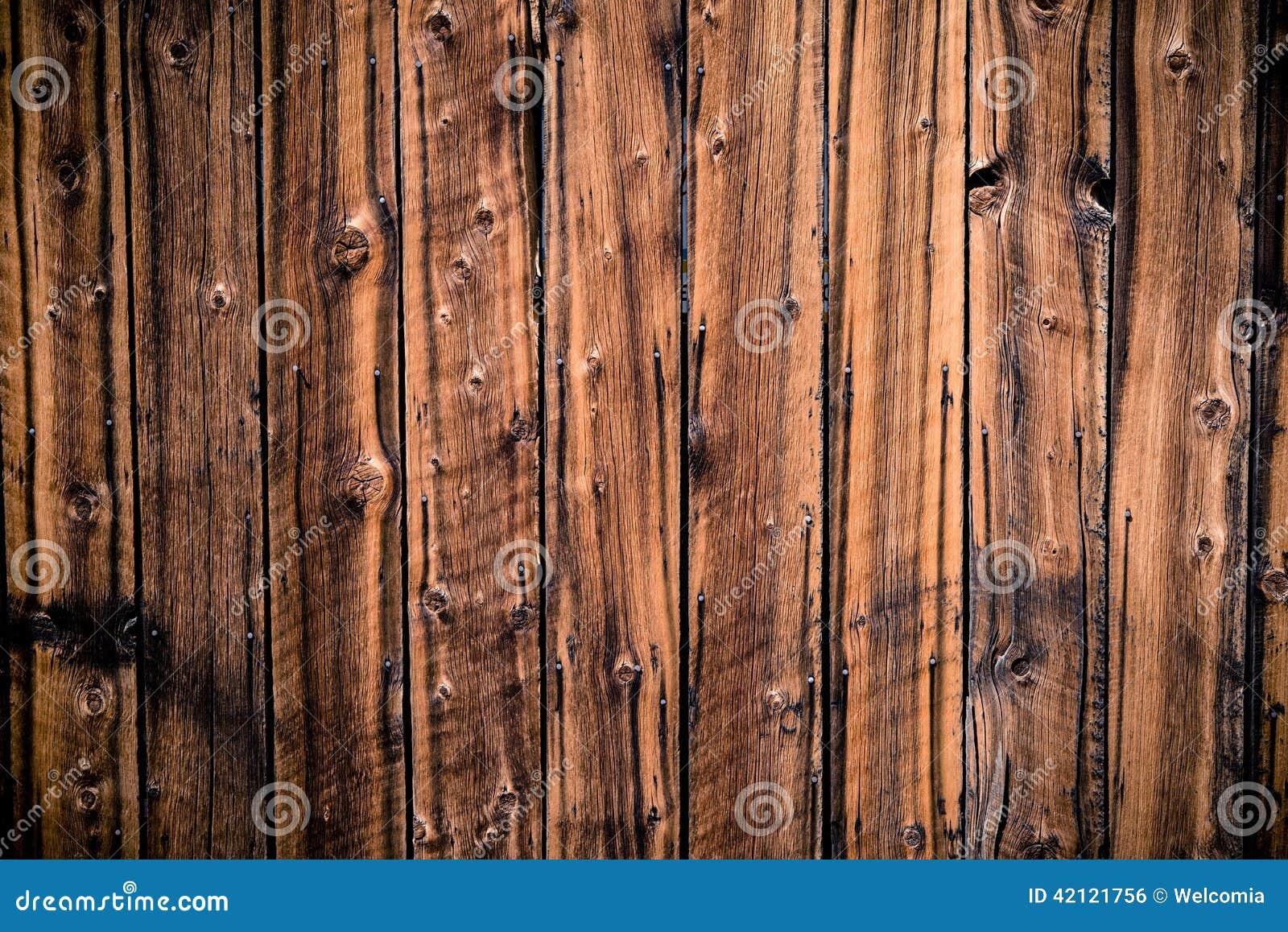 Aged vintage wood planks royalty free stock image