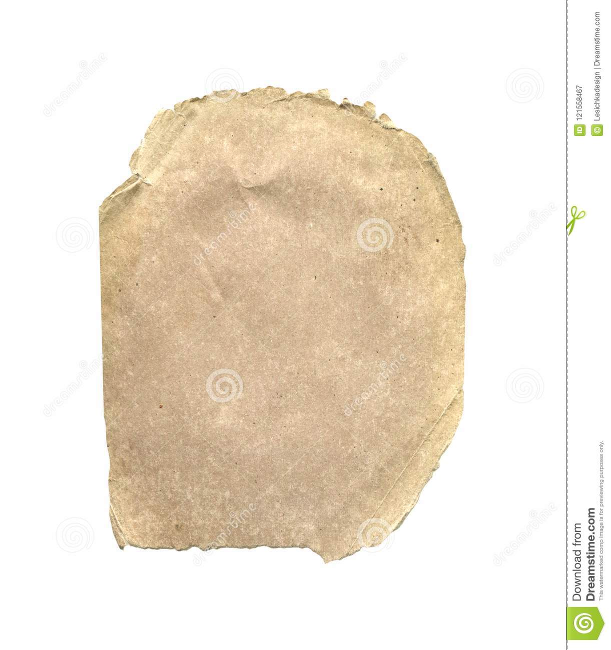 Old brown paper texture.