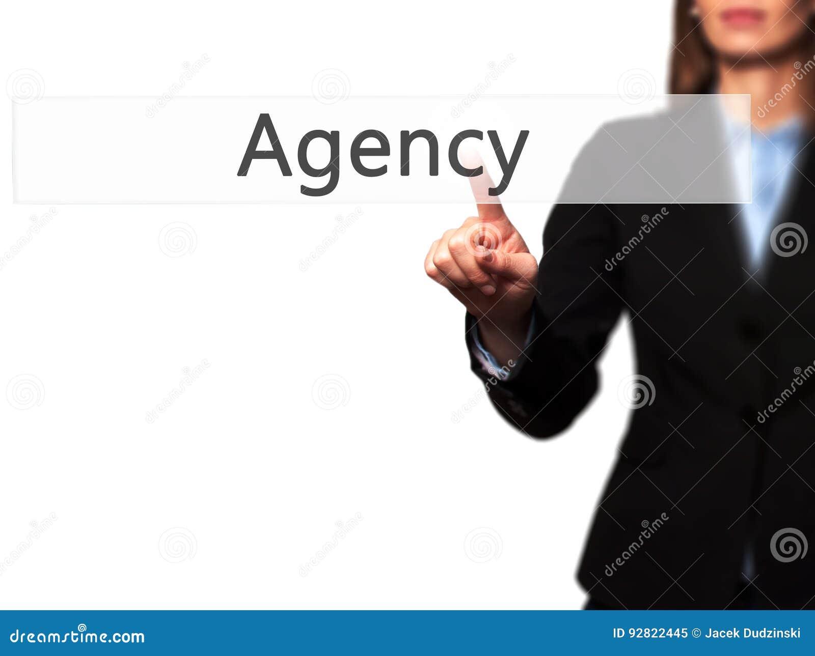 Agencja - Odosobniony żeński ręki macanie lub wskazywać zapinać