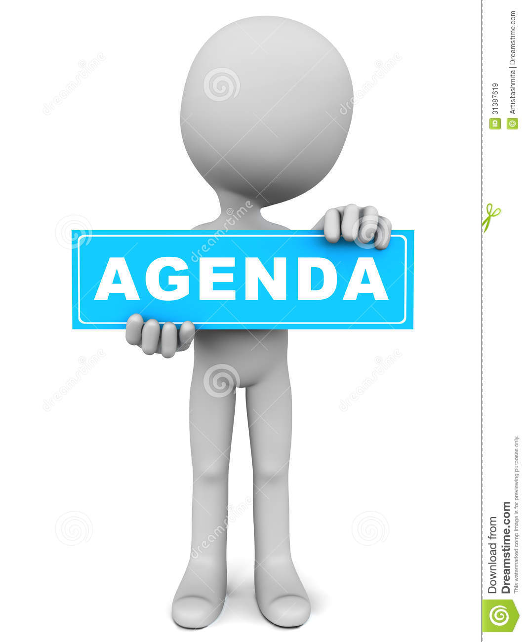 Meeting Agenda Clipart  Agenda Download Free