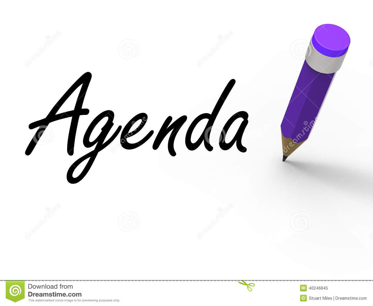 agenda with pencil means written agendas stock agenda clip art free agenda clipart icon