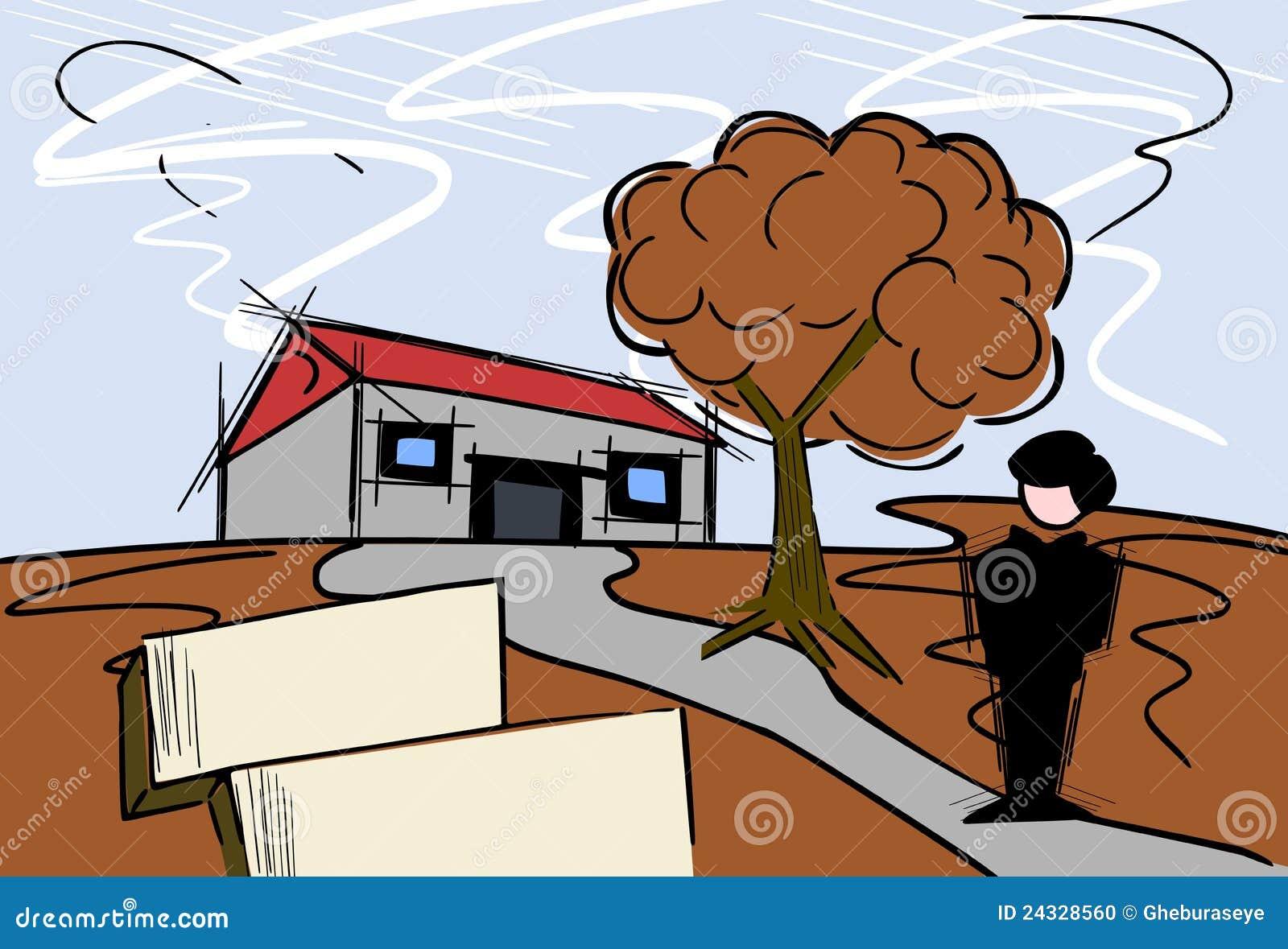 Agent immobilier réel