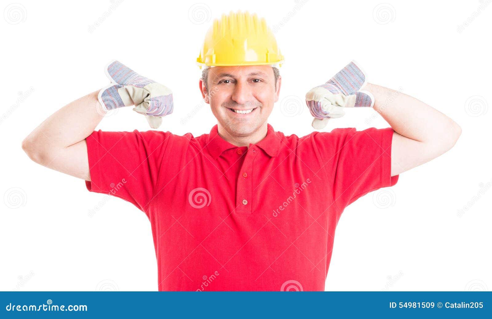 Agera för byggmästare som eller för byggnadsarbetare är starkt och som är kraftigt