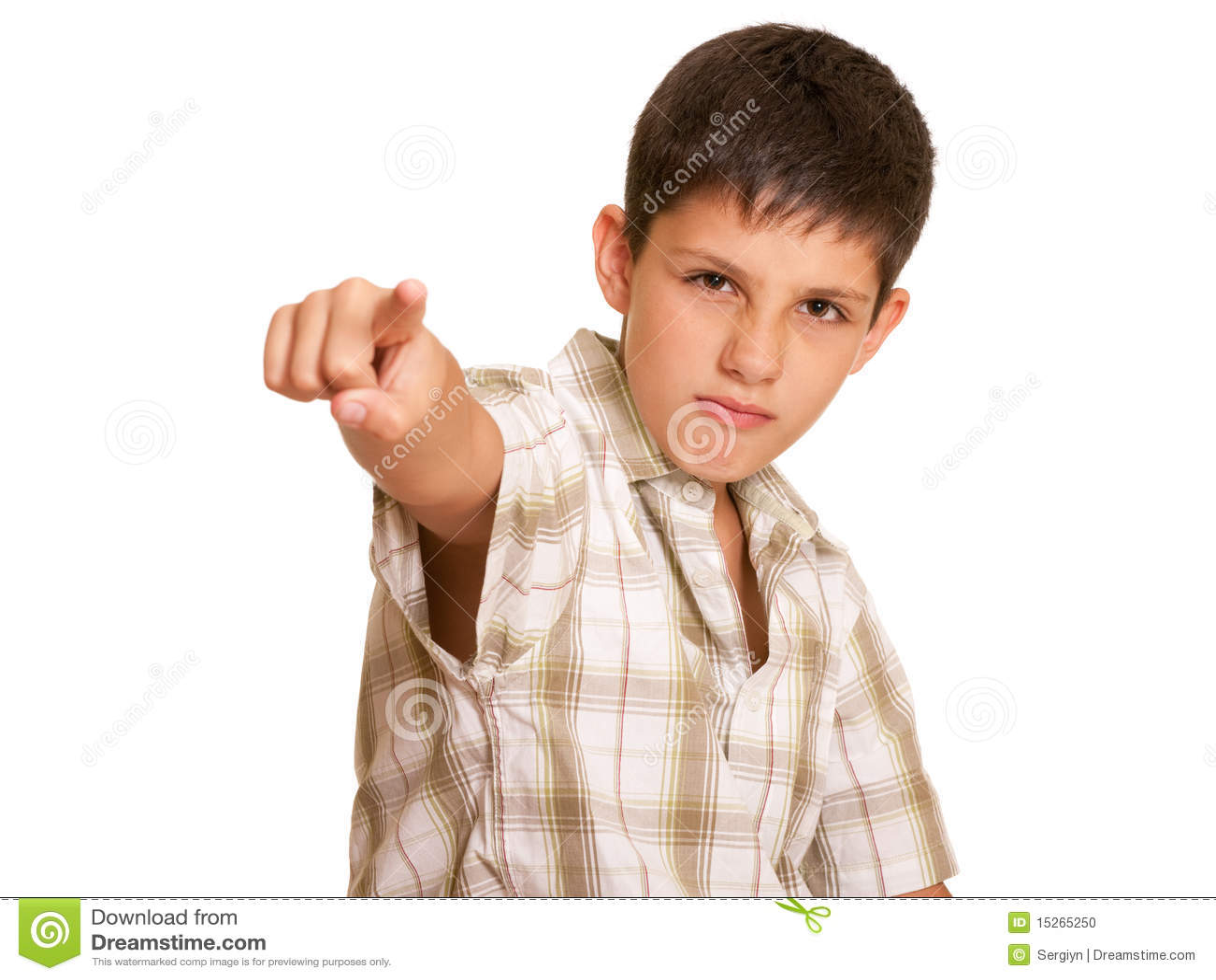 Aggressiv pojke