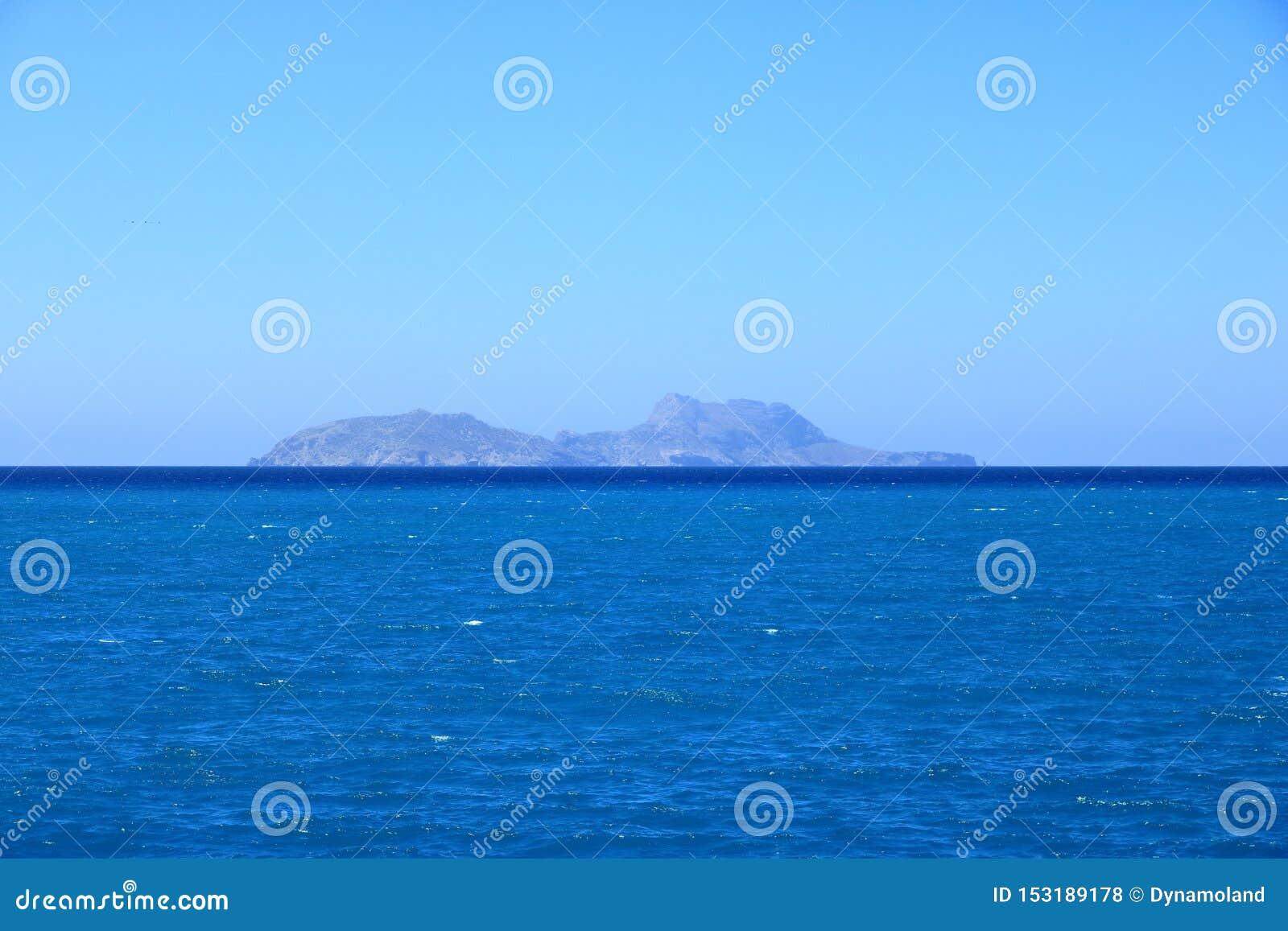 Agia Galini Beach in Crete island, Greece