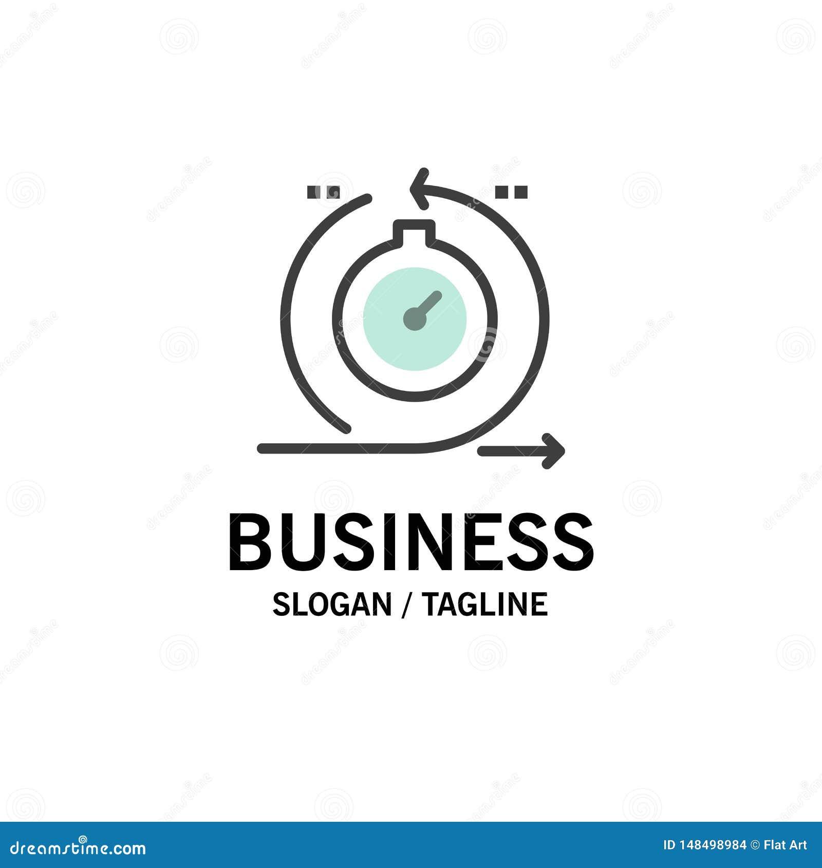 Agile, cycle, développement, rapide, affaires Logo Template d itération couleur plate