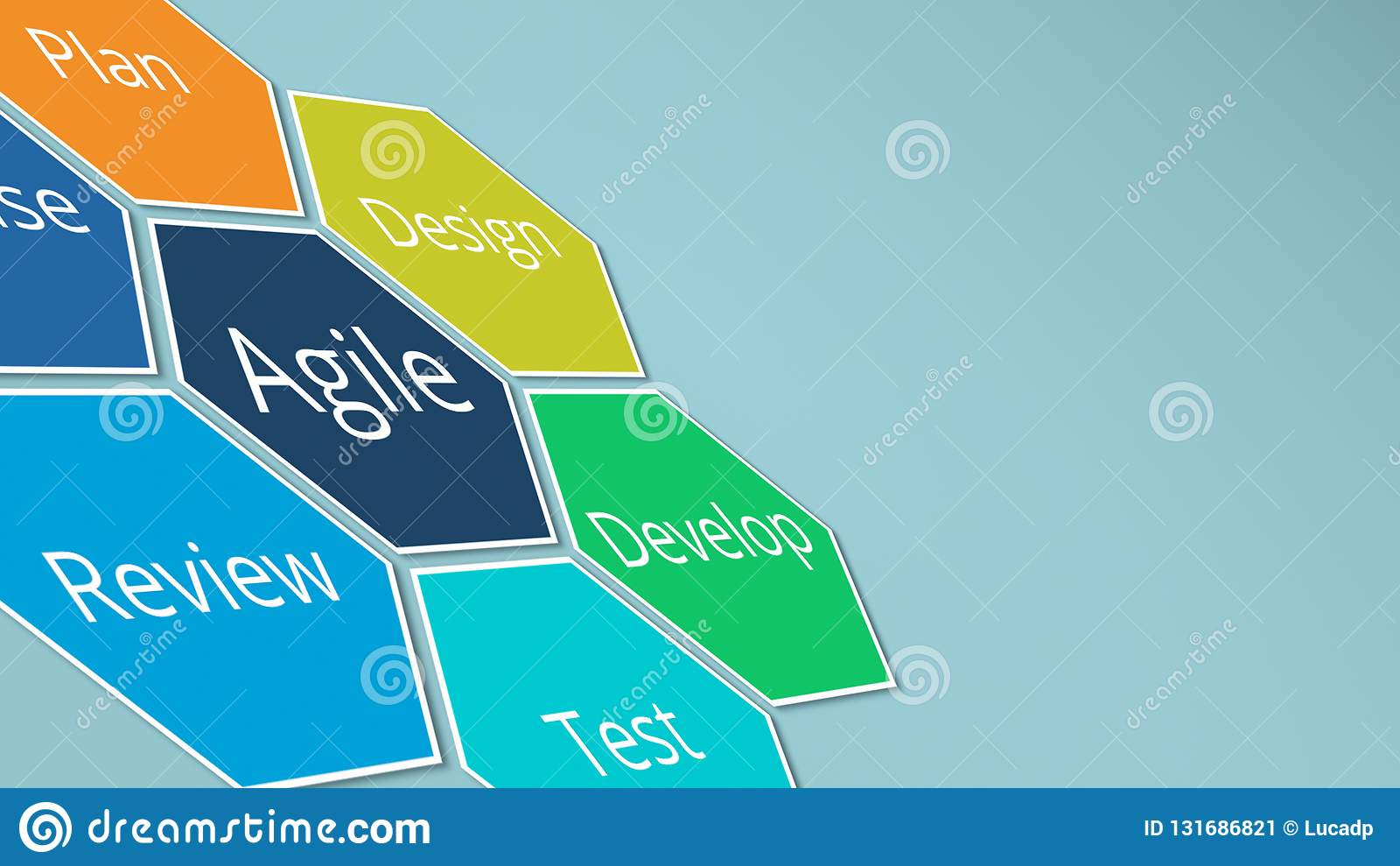 agile management concept stock illustration illustration of