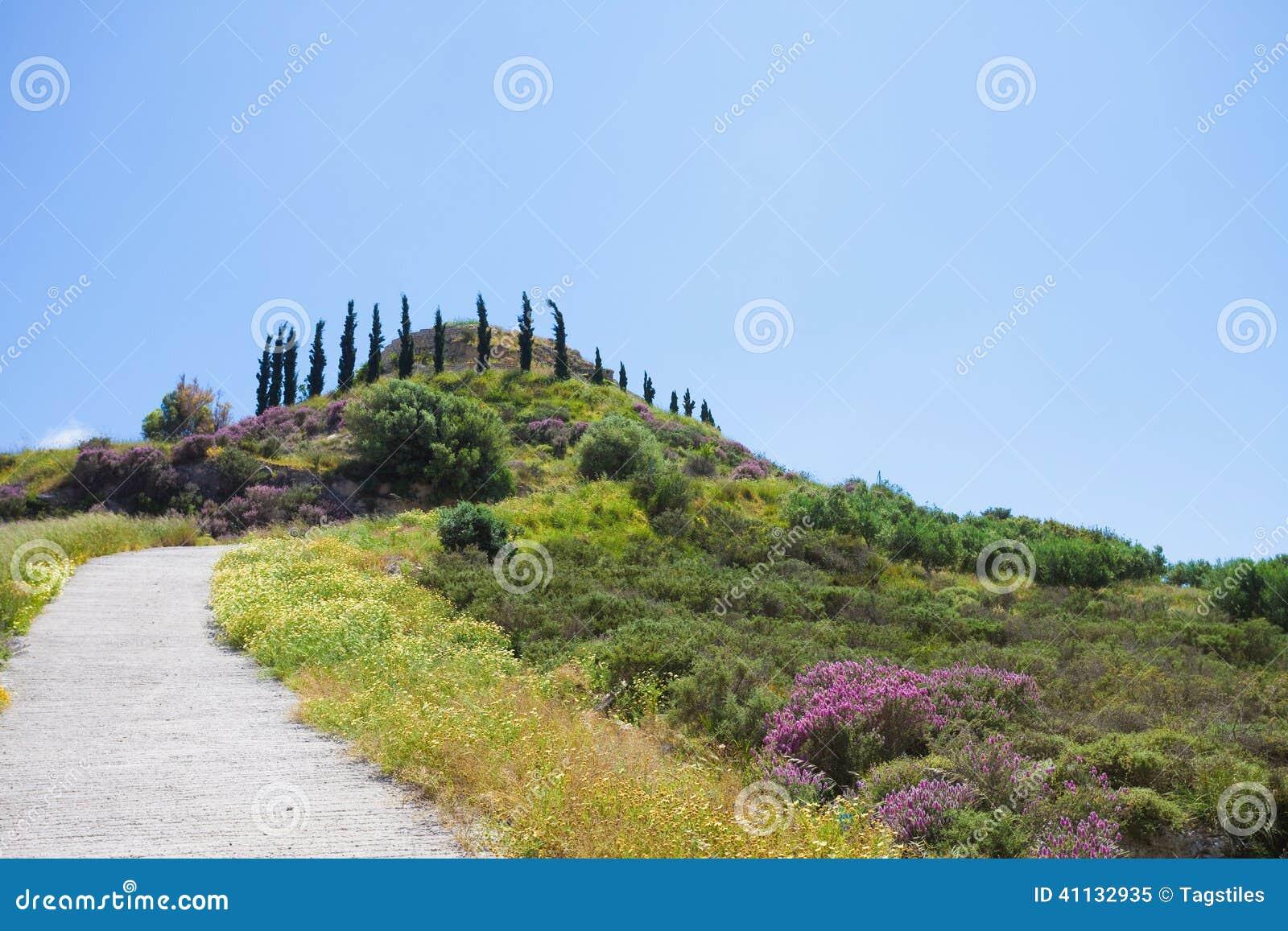 Download Agios Ioannis stockbild. Bild von betriebe, postkarte - 41132935
