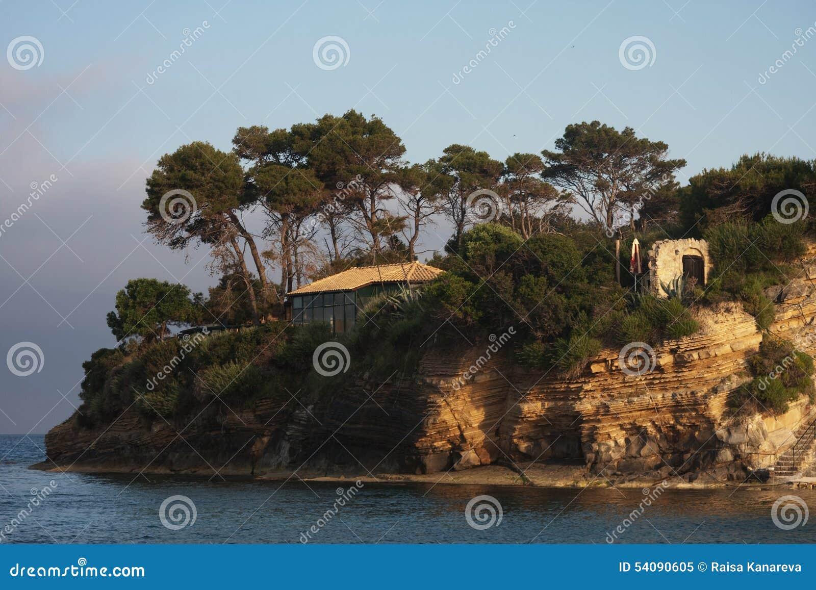 Agios Sostis in het eiland van Zakynthos