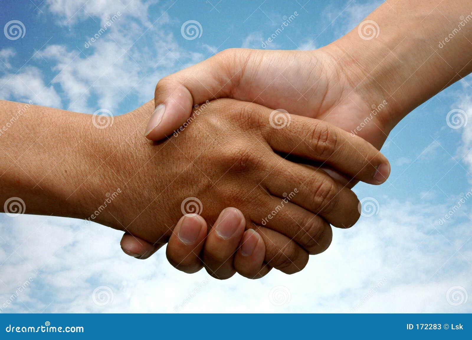 Agitação da mão