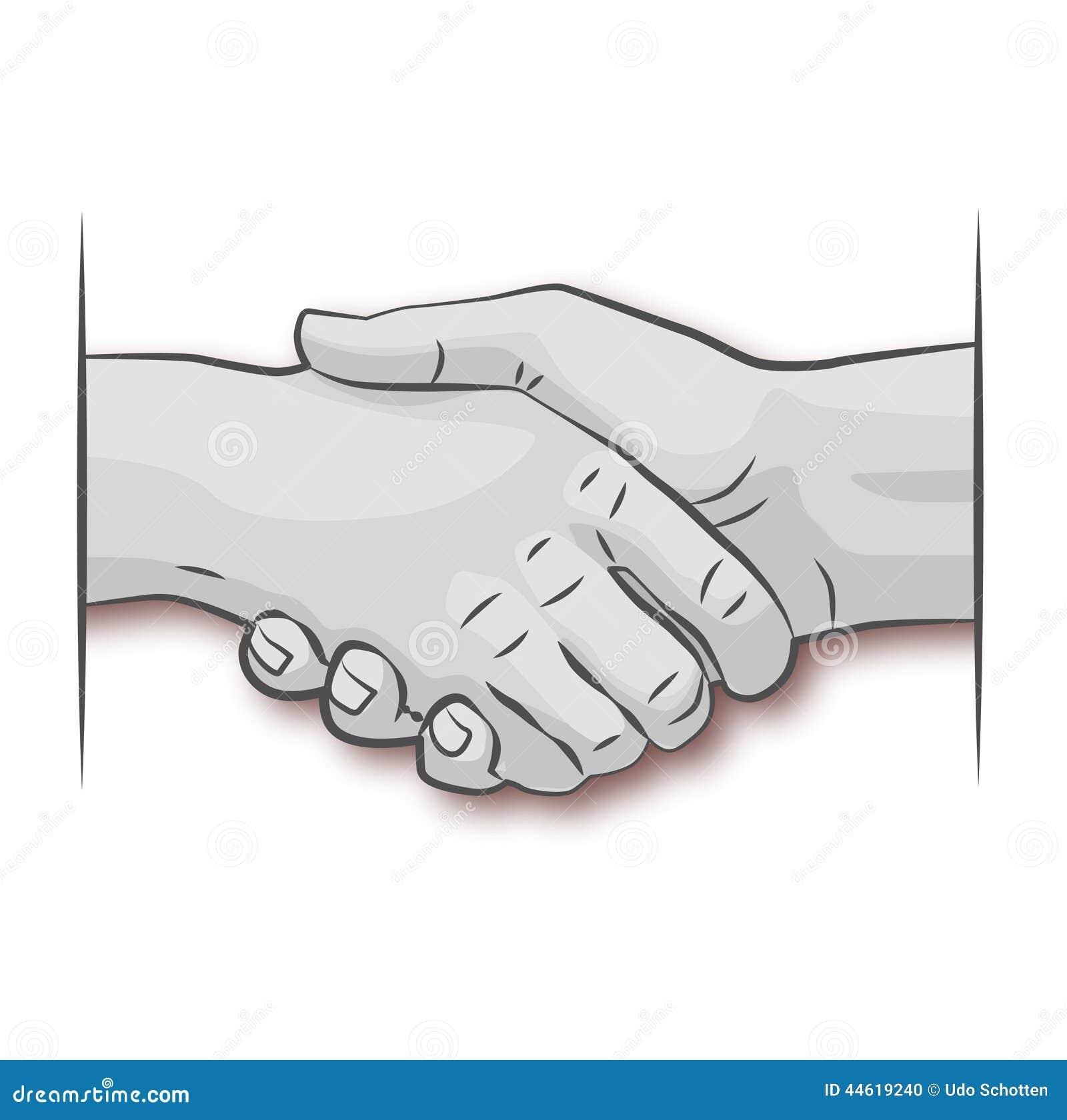 Agitando as mãos