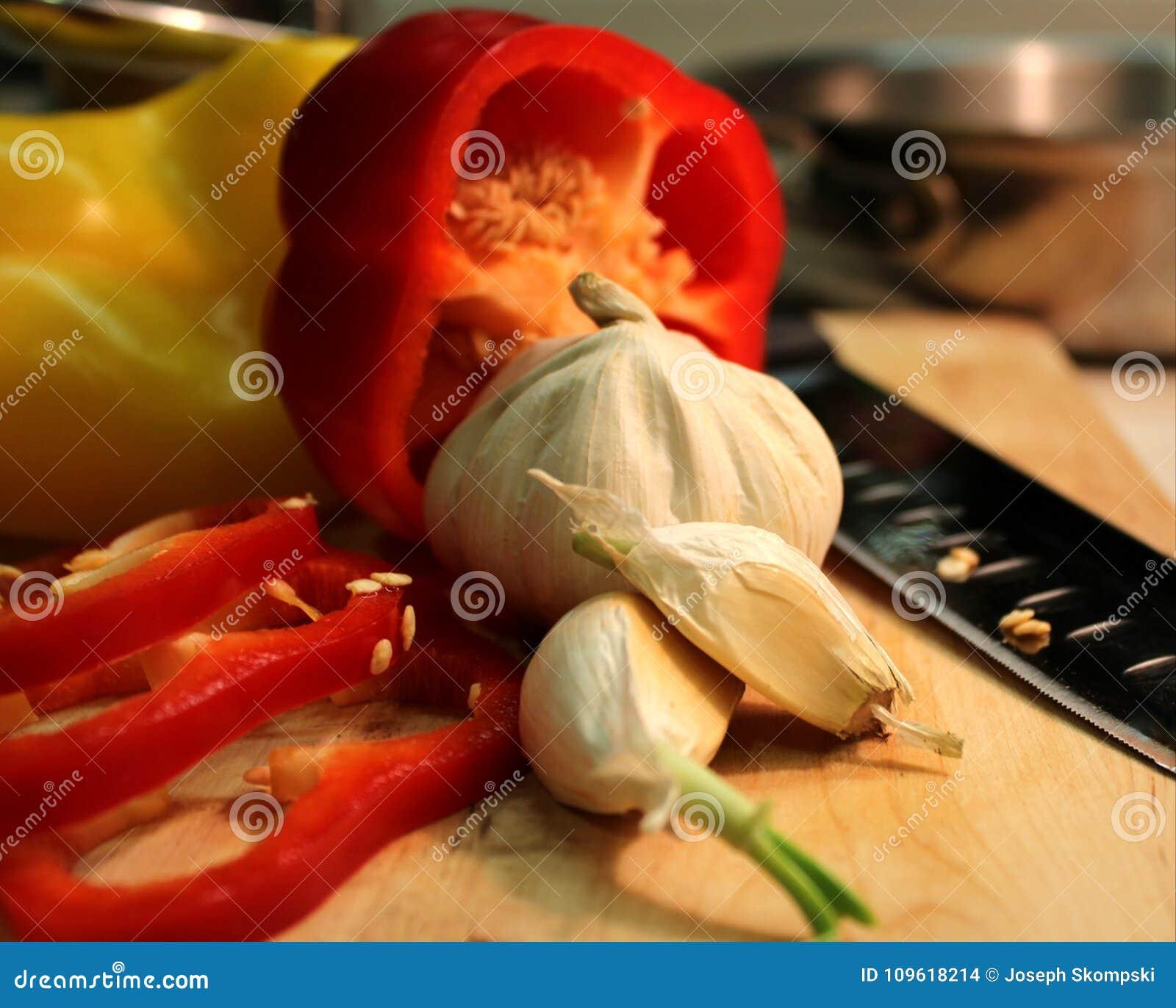 Aglio e peperoni
