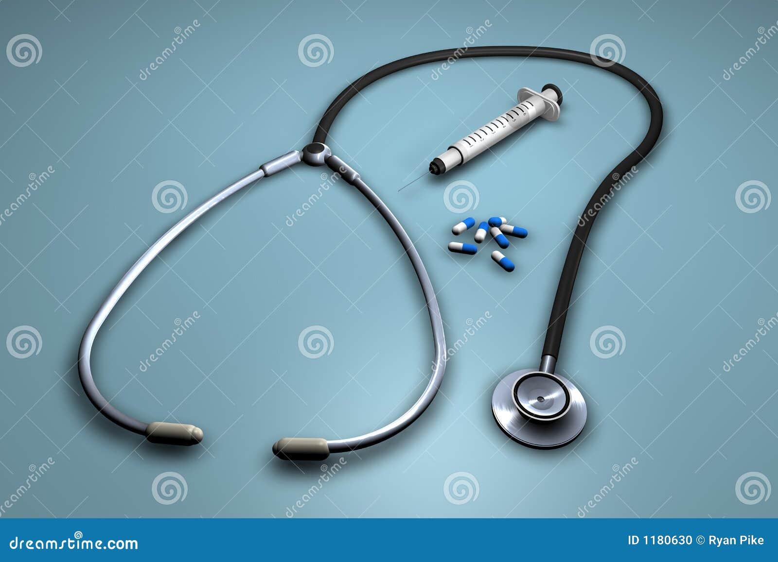 Ago, pillole e stethascope