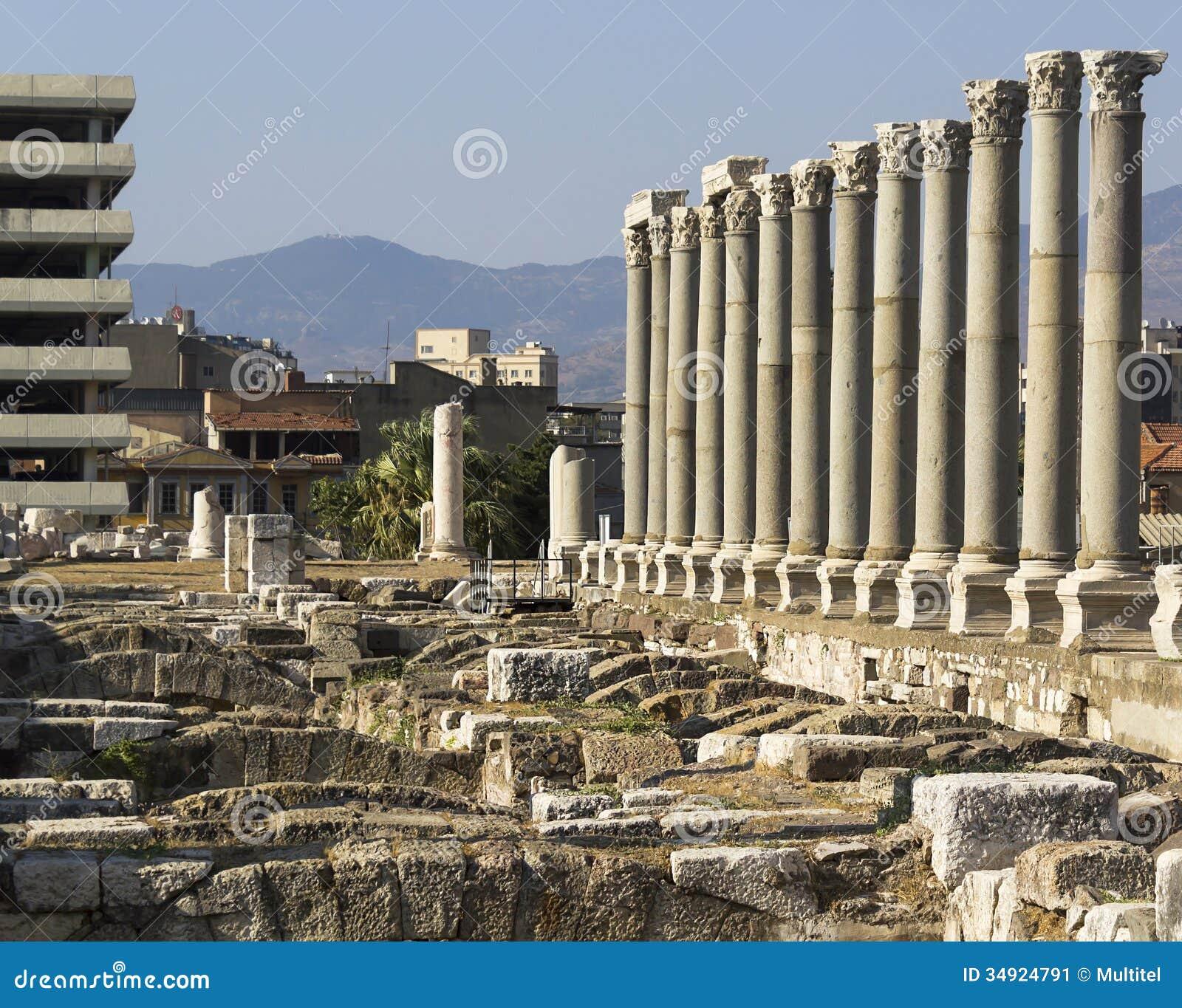 Agora Of Smyrna Stock Image - Image: 34924791